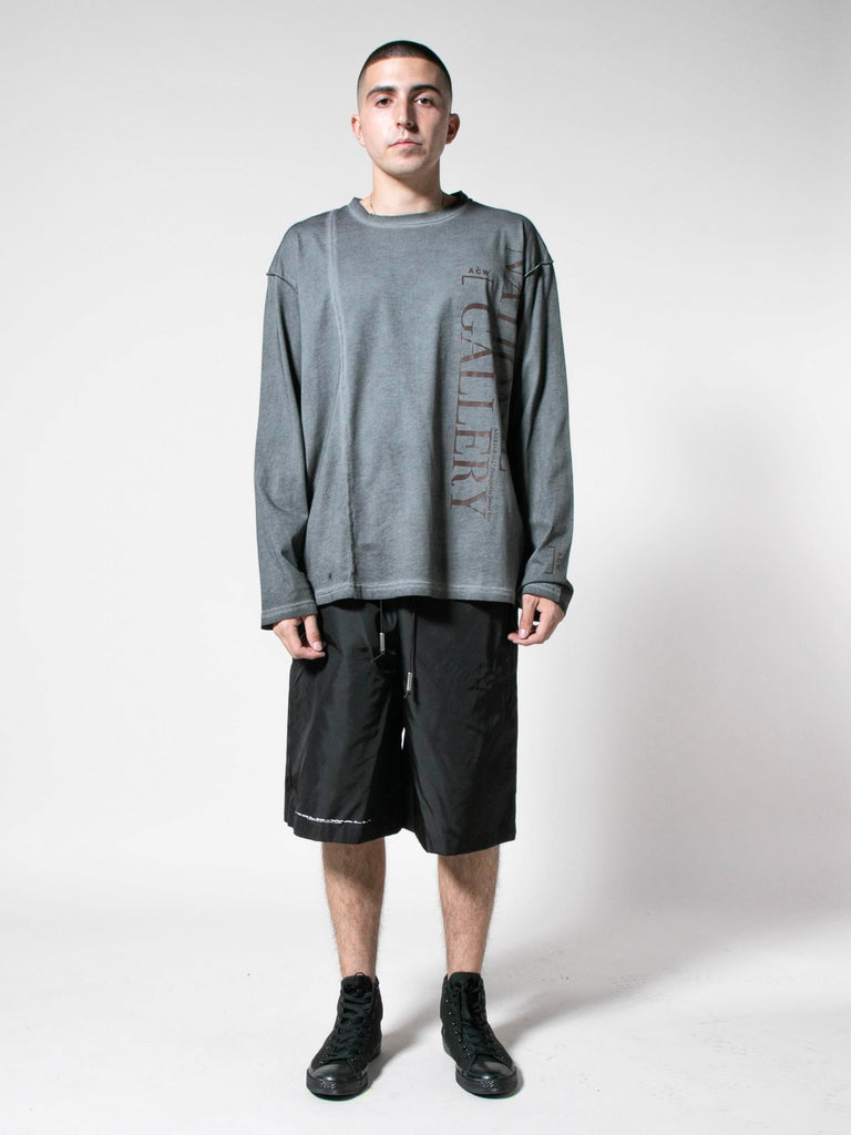Slate Grey Gallery L/S T-Shirt 313571538190413