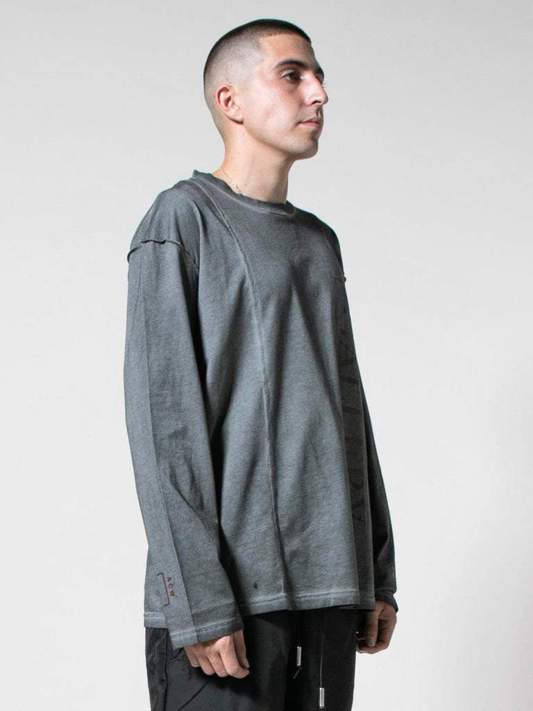 Slate Grey Gallery L/S T-Shirt 413571538223181