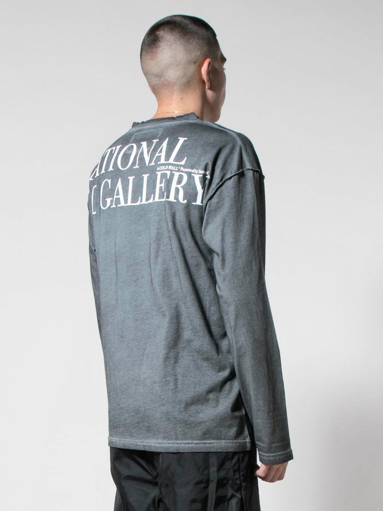 Slate Grey Gallery L/S T-Shirt 513571538255949