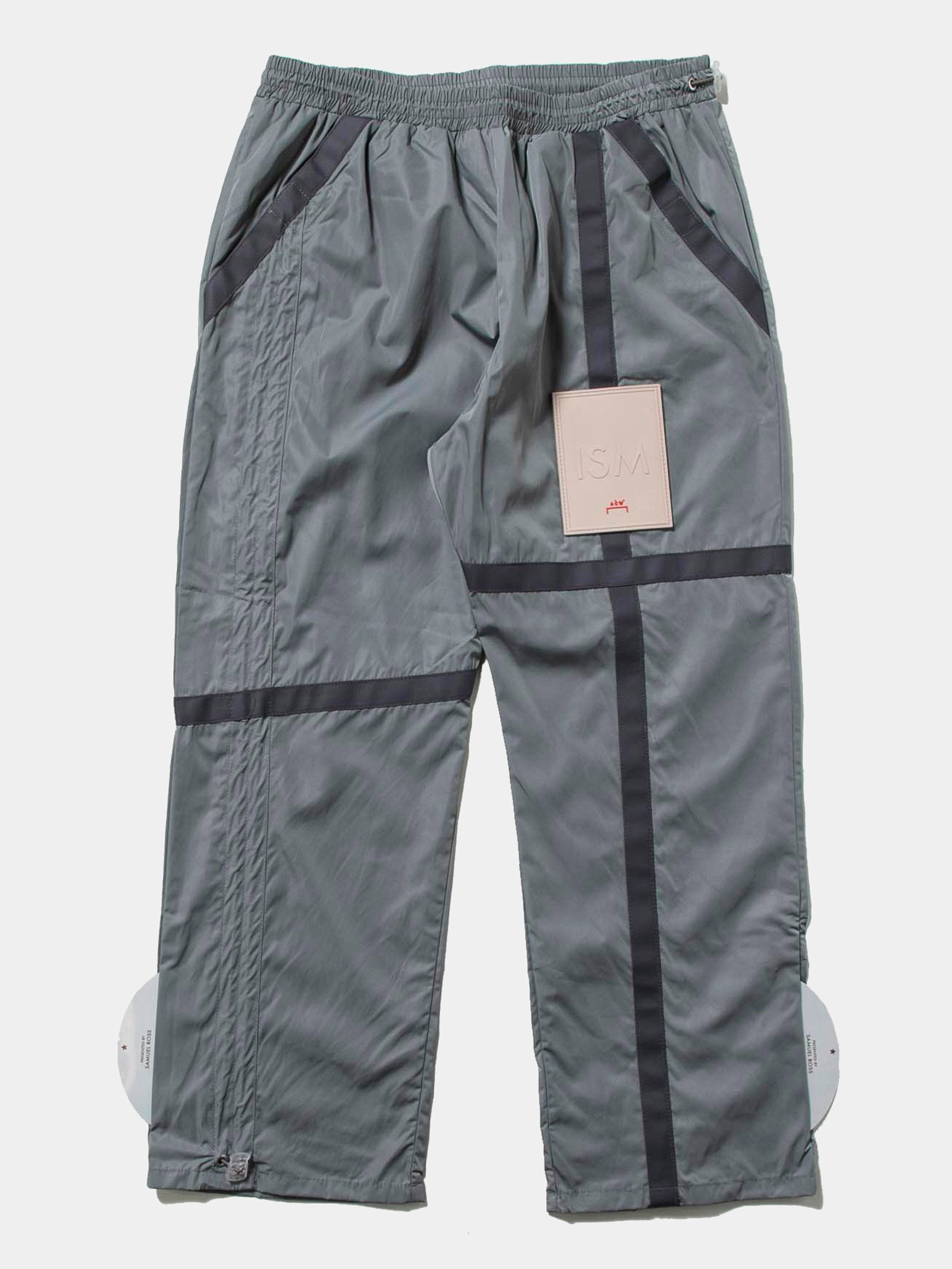 Sage Patch Circuit Trousers 1