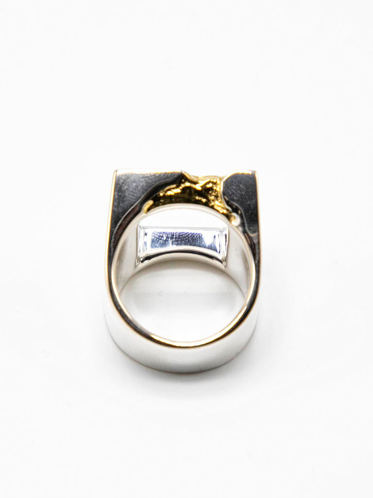 Gold Oversize Gold Leaf Ring 313566354522189