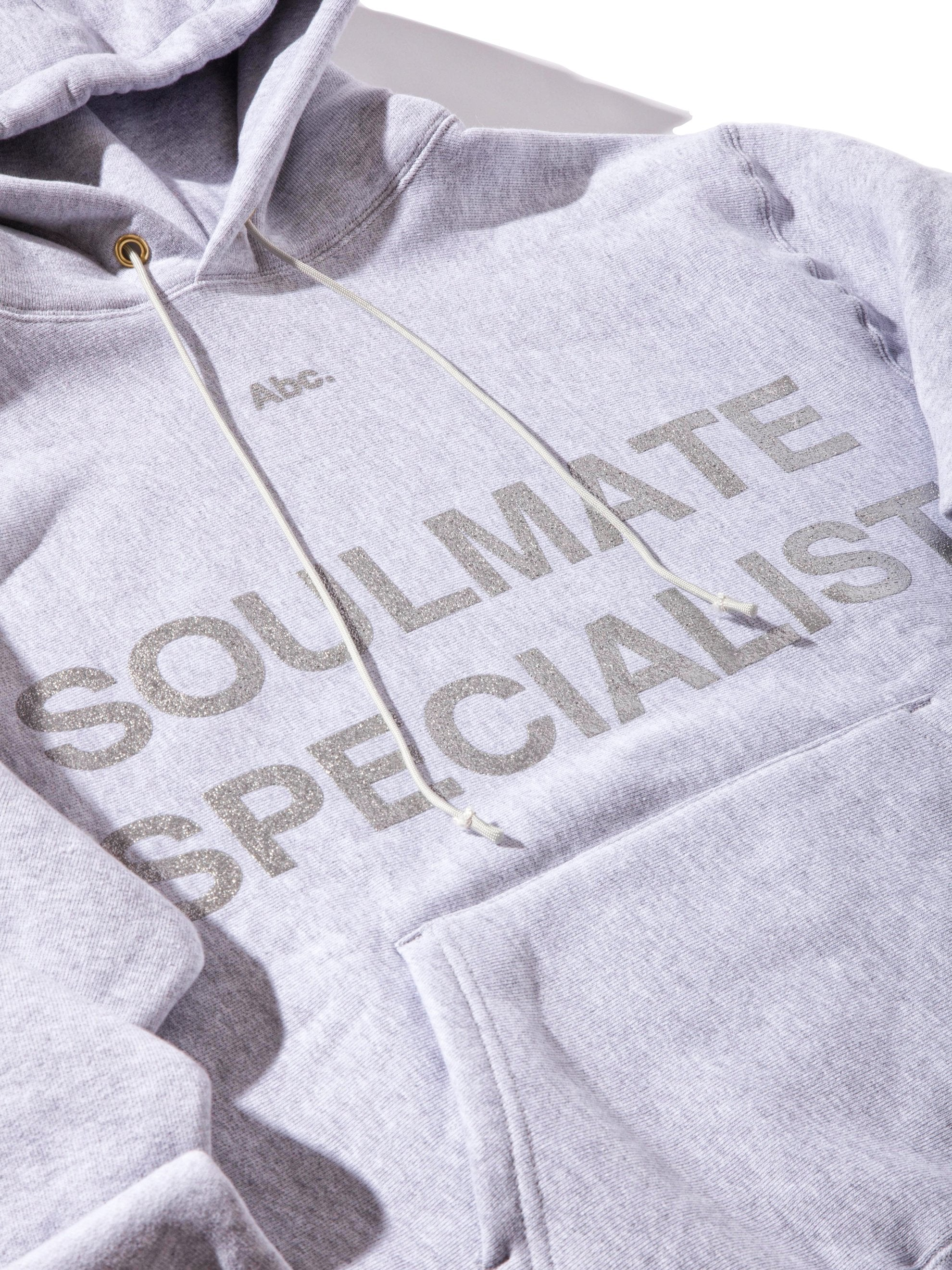 Heather Grey Soulmate Hooded Sweatshirt 6