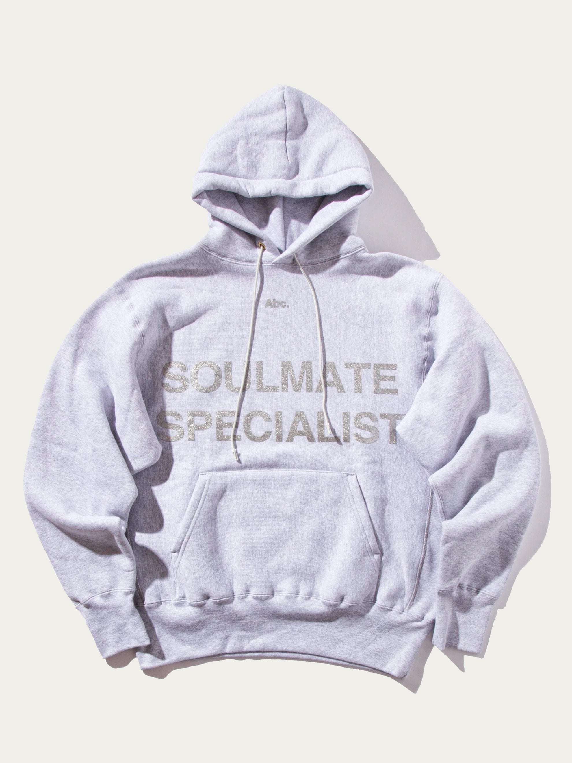 Heather Grey Soulmate Hooded Sweatshirt 1