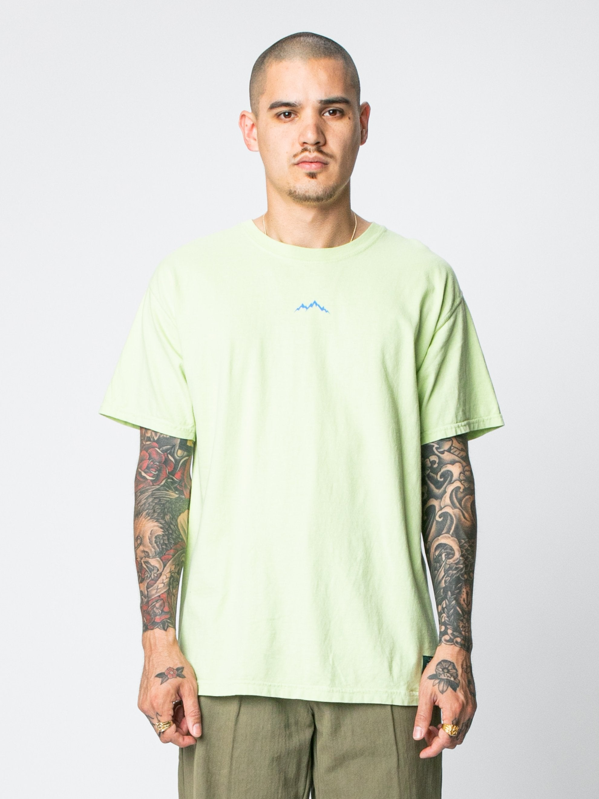 Mint Alpine T-Shirt 2