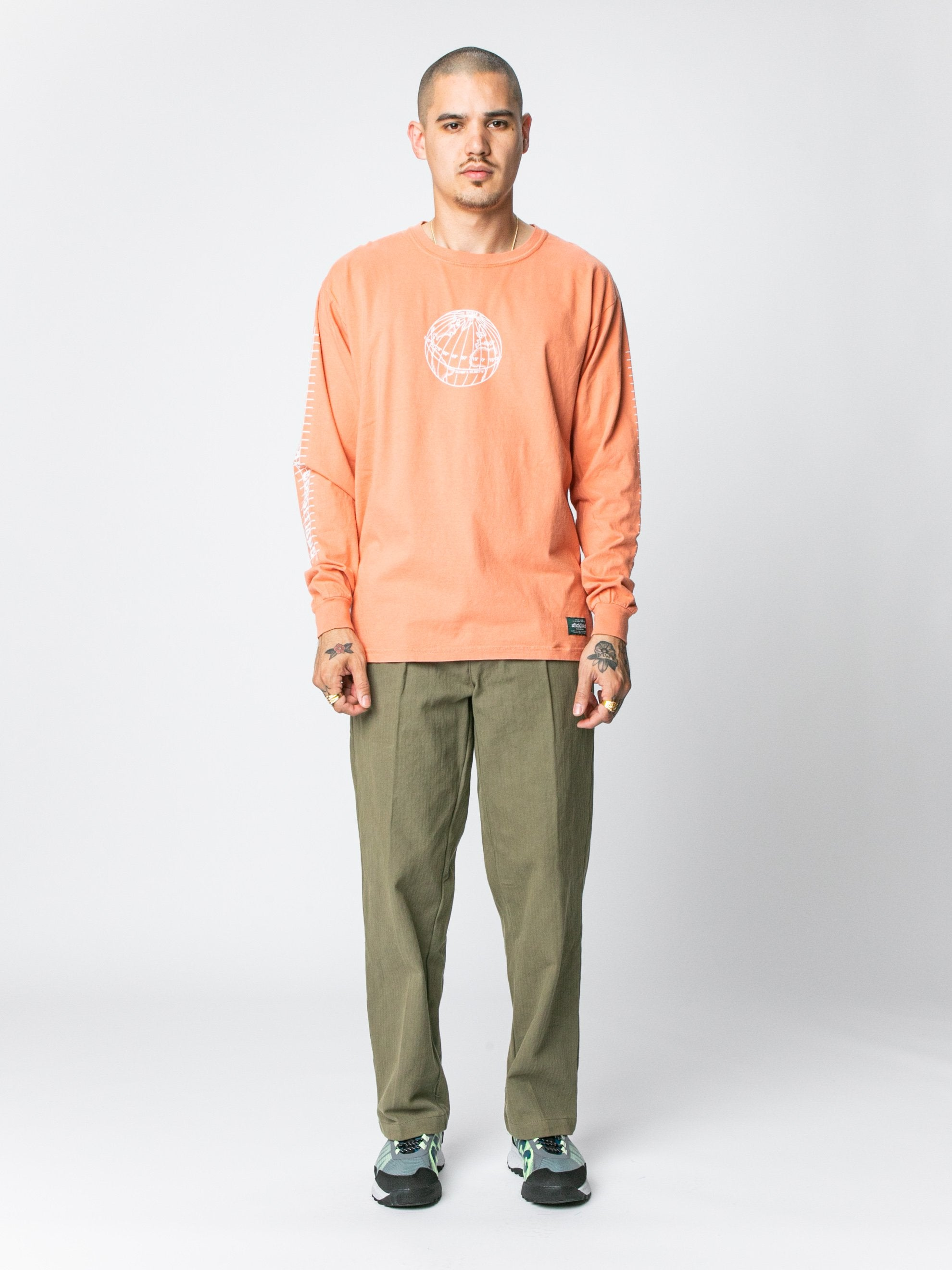 Terracotta Equator L/S T-Shirt 3