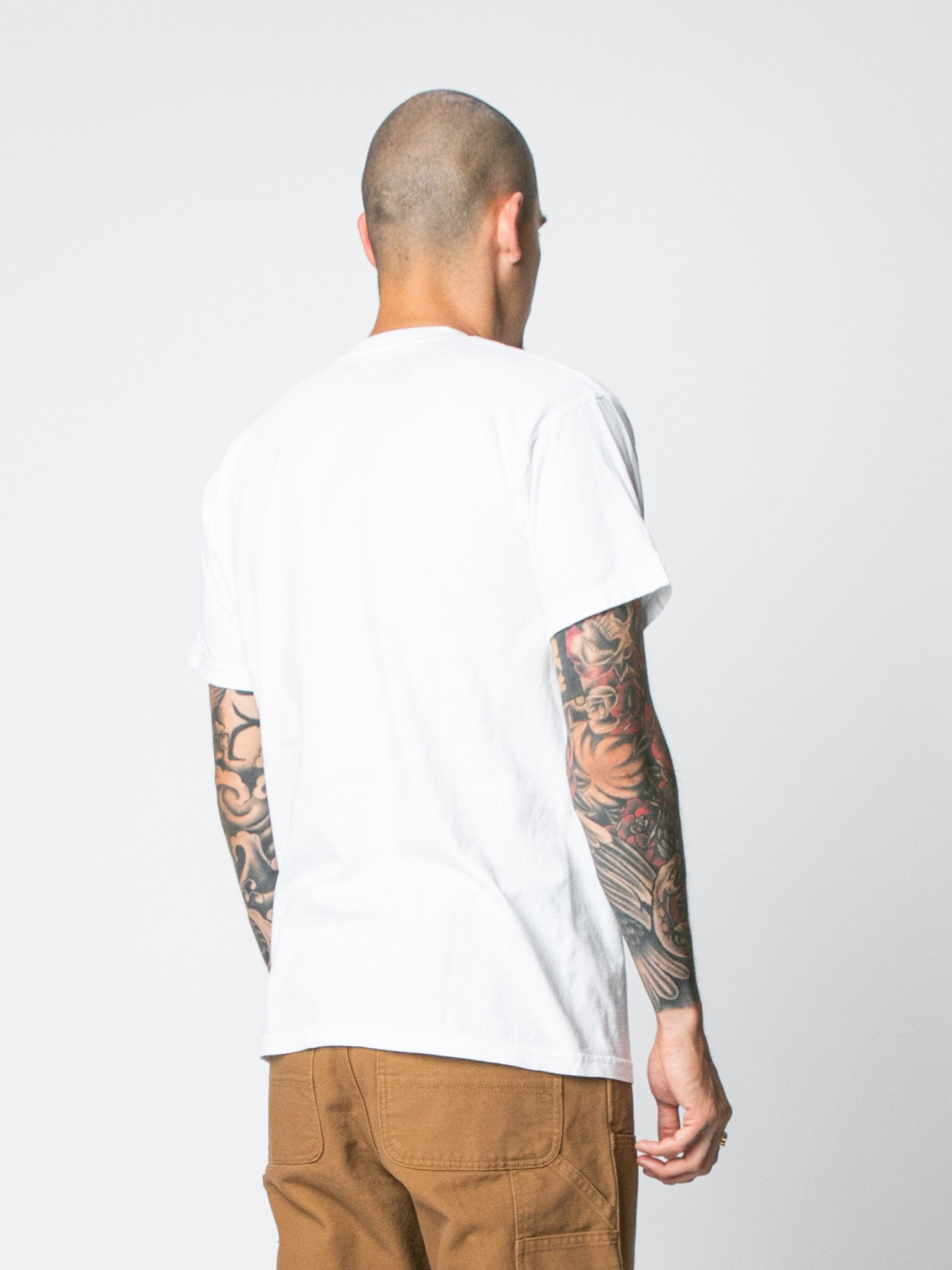White Hallucinate T-Shirt 5