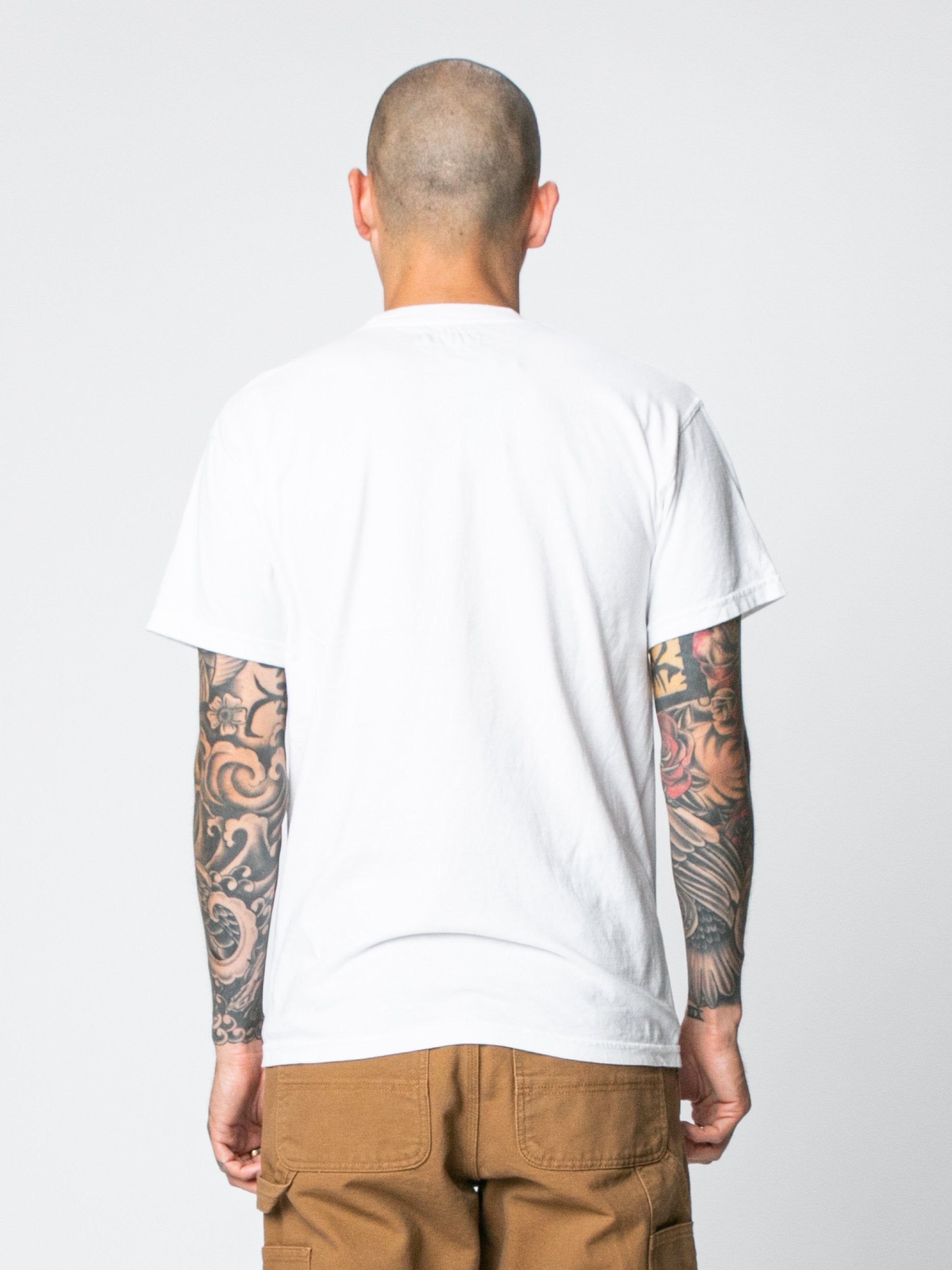 White Hallucinate T-Shirt 6