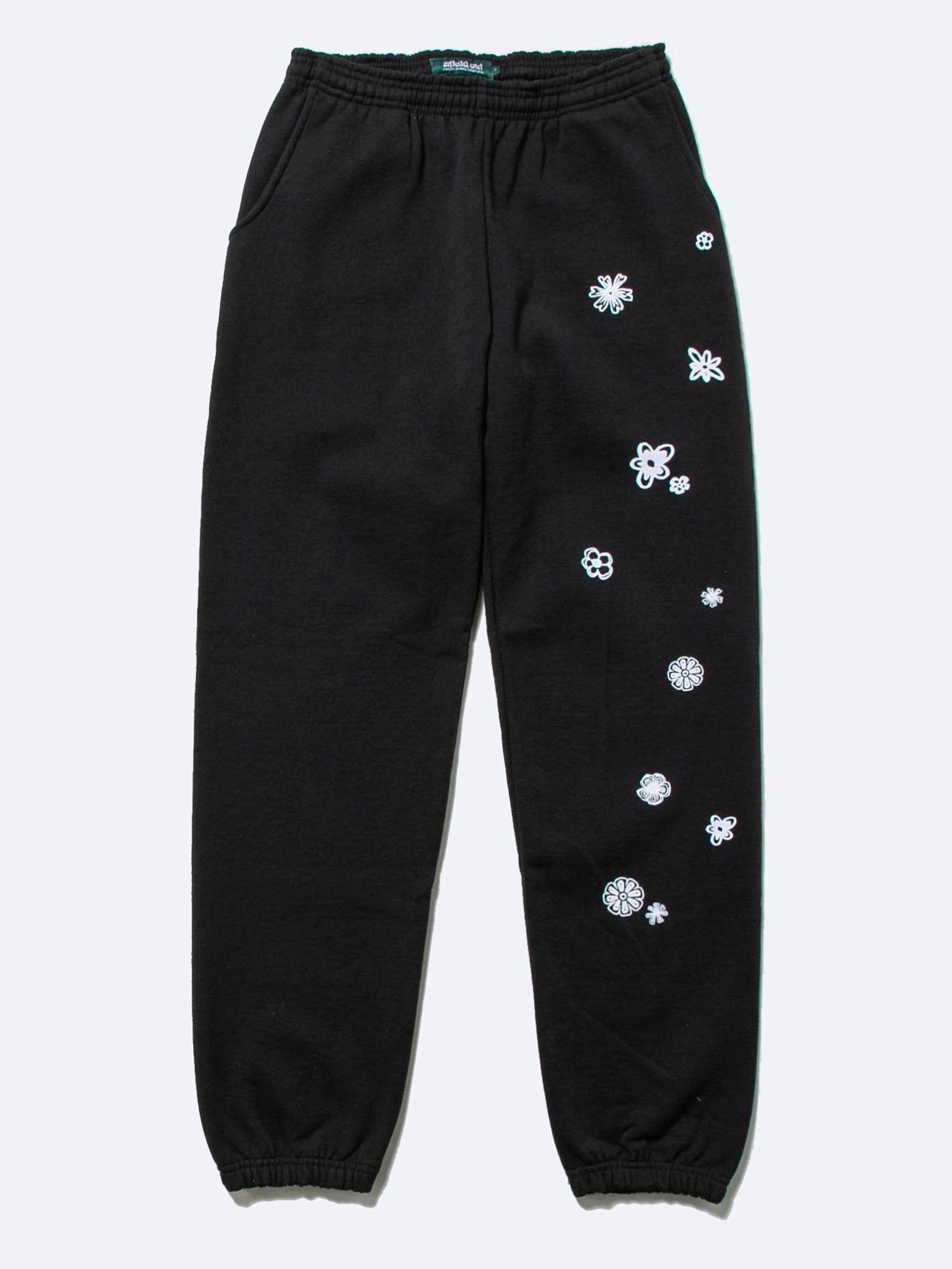 Black Blossom Sweatpants 1
