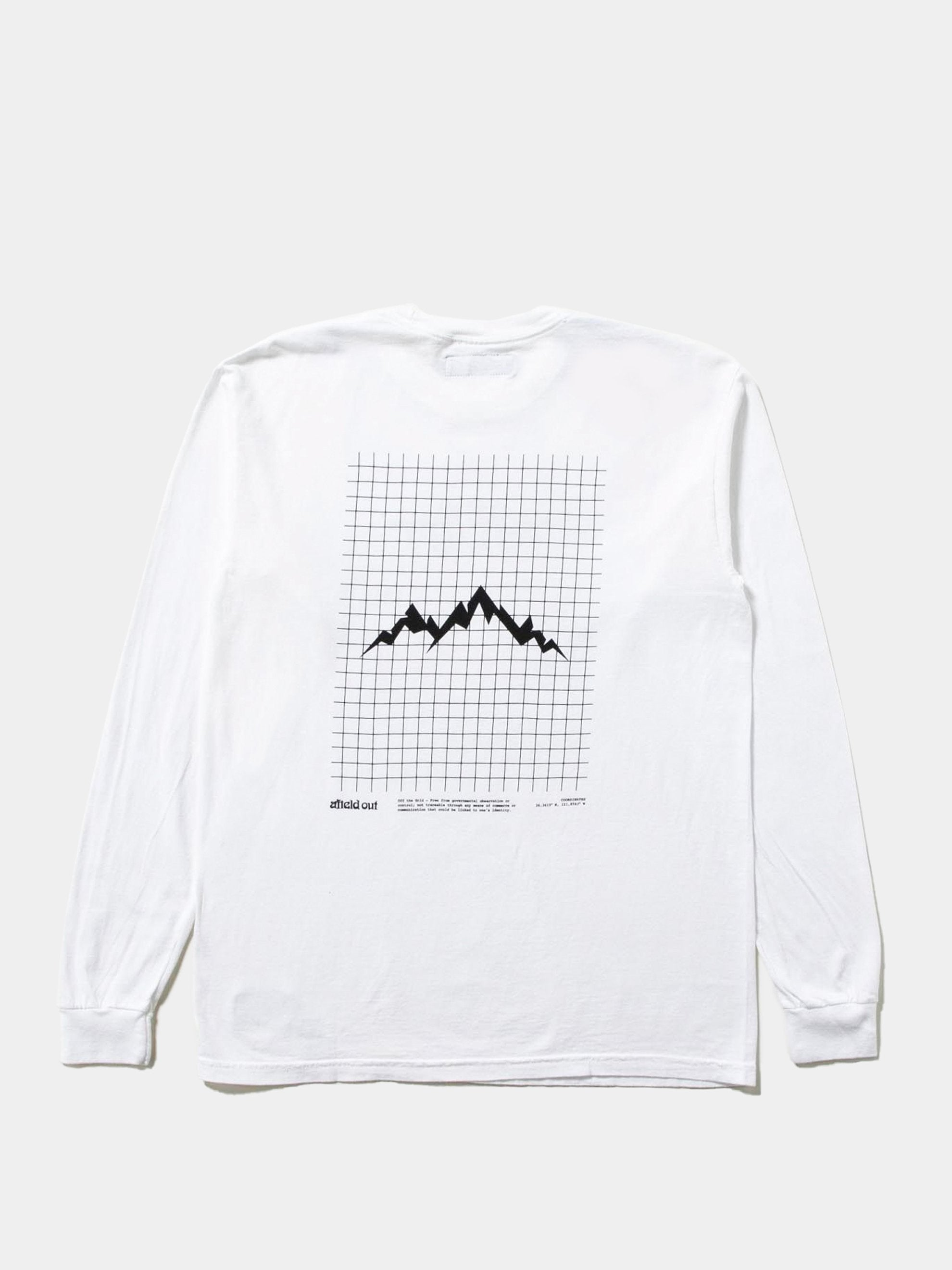 White Off The Grid L/S T-Shirt 1