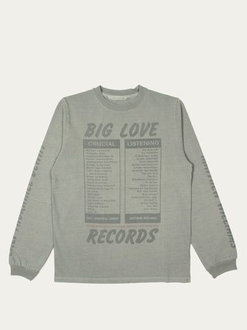 Big Love Records Long Sleeve T-Shirt
