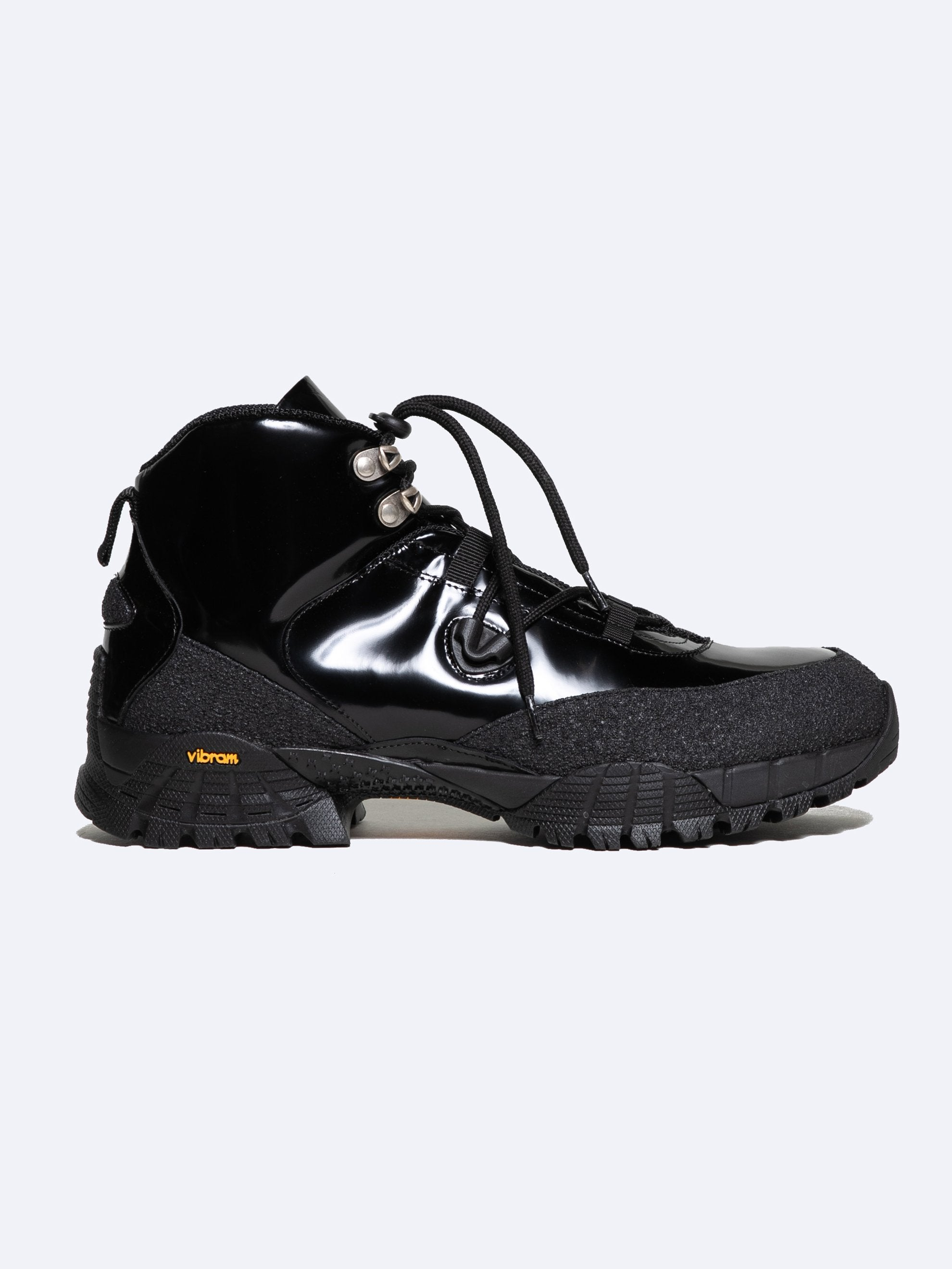 Black Hiking Boots 1