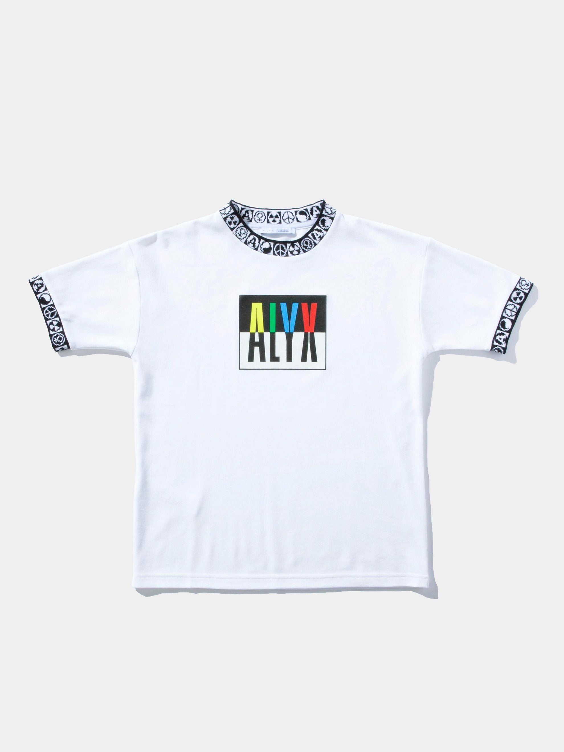 White Colorblock S/S T-Shirt 1