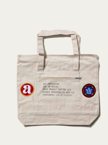 "Argot ""No Squares"" Tote Bag"