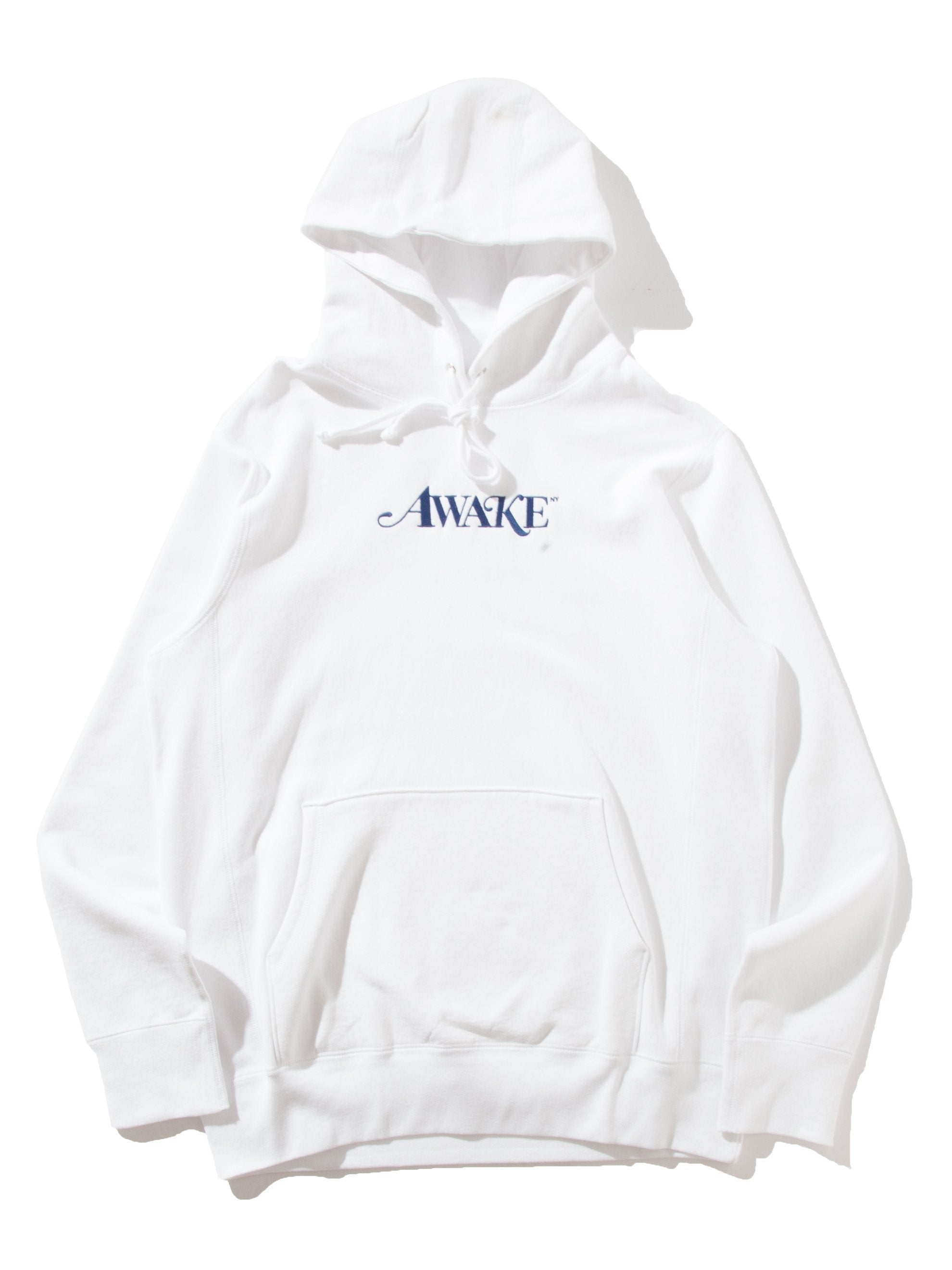 White Logo Hooded Sweatshirts 13