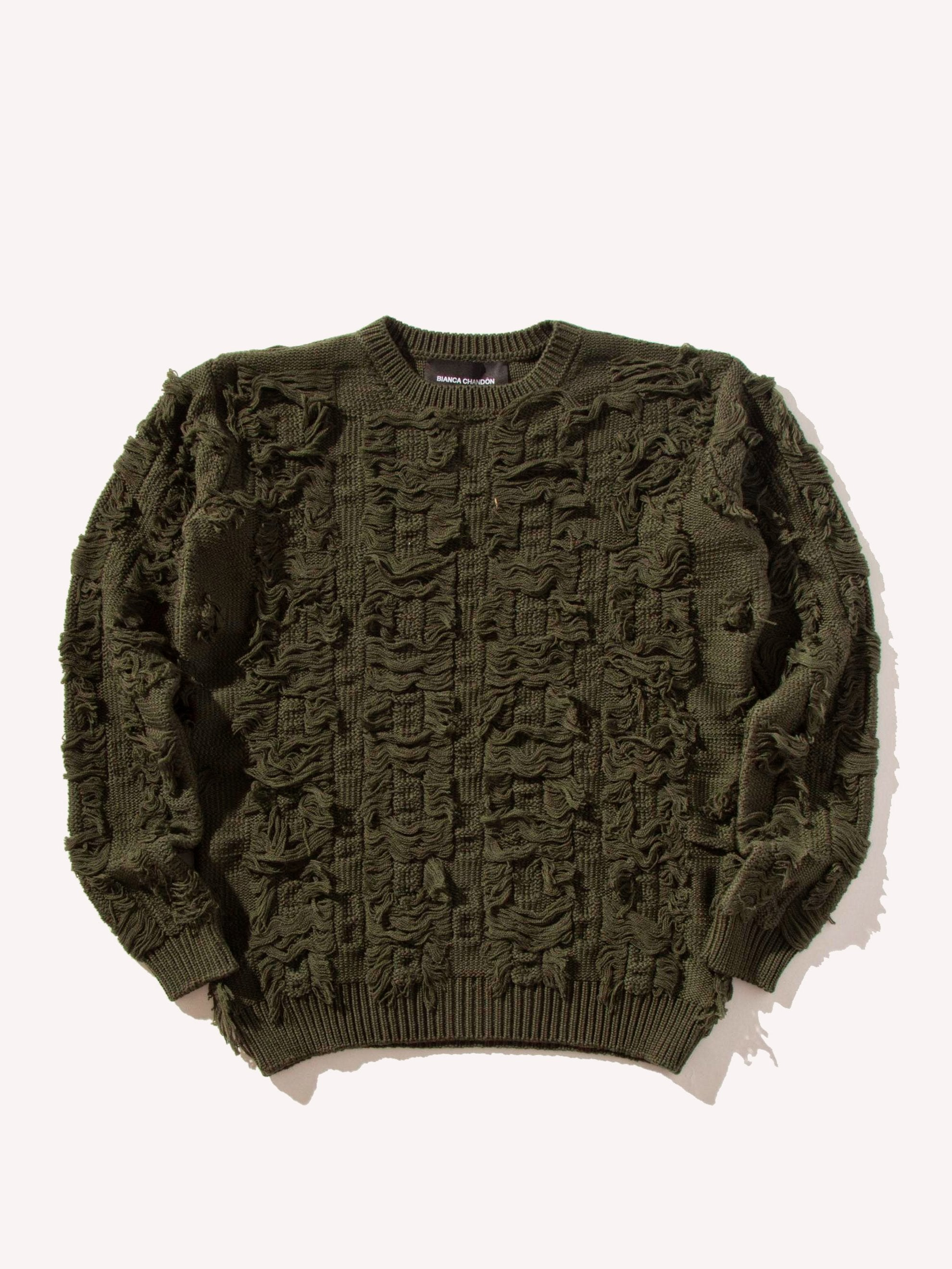 Cut Float Jacquard Sweater
