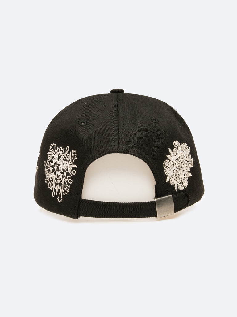 Black Say It With Flowers 6-Panel Hat 315731068141645