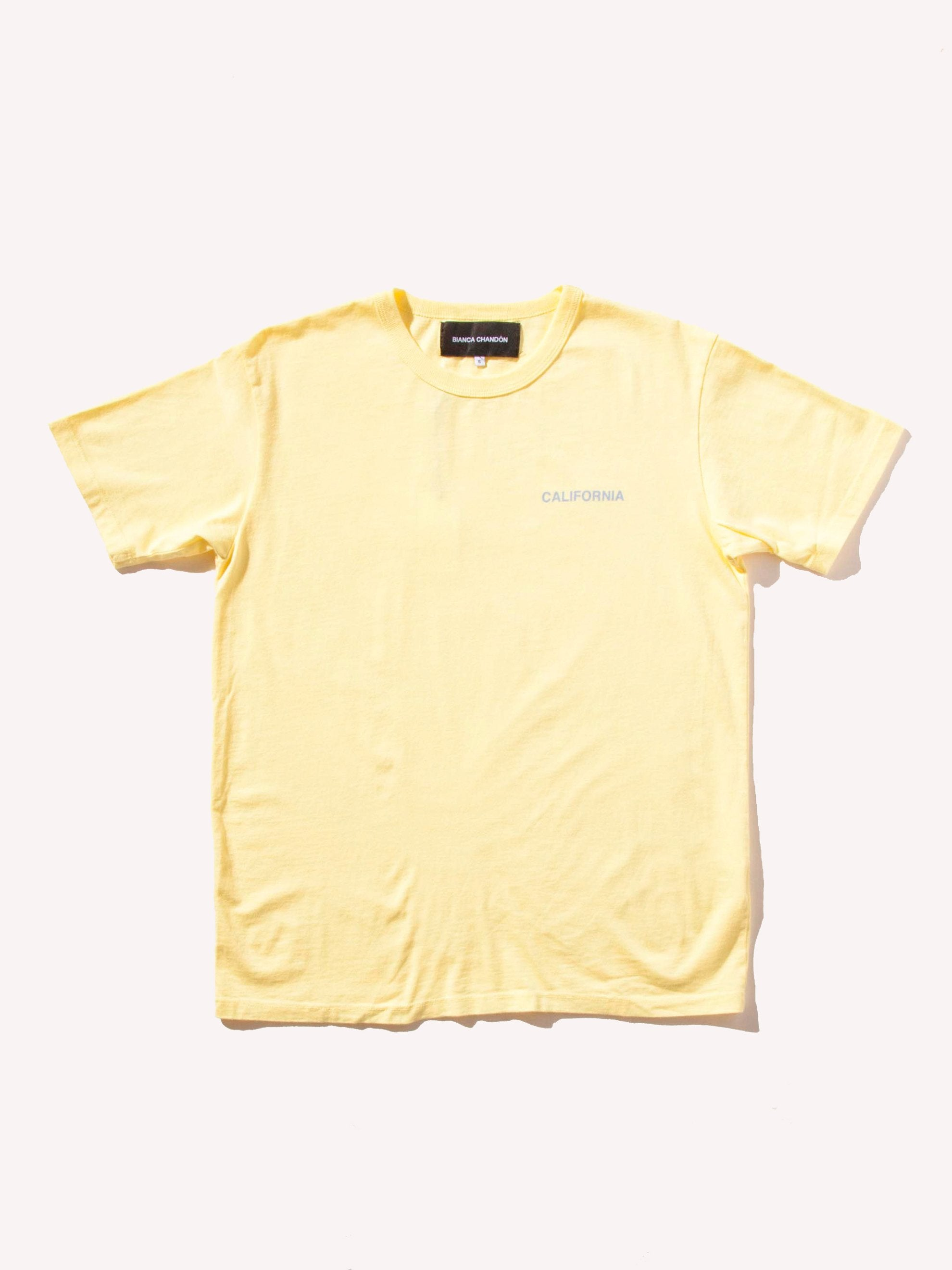 Yellow California T-Shirt 1
