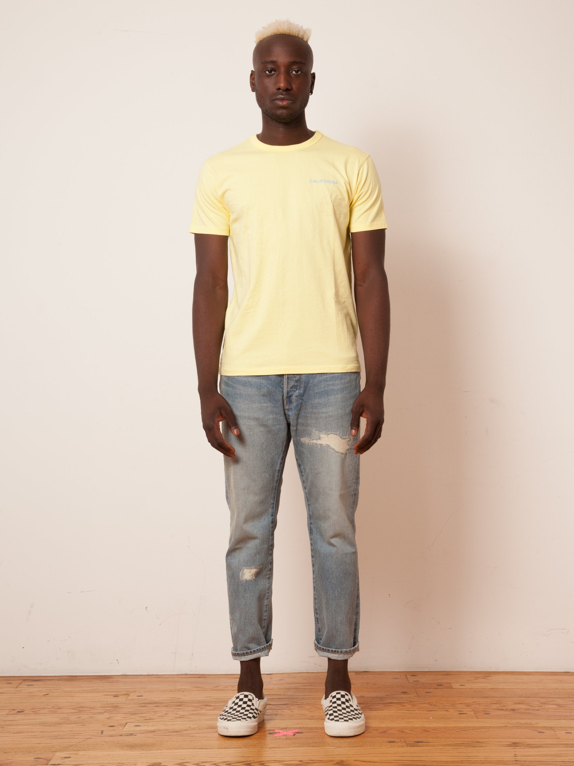 Yellow California T-Shirt 2
