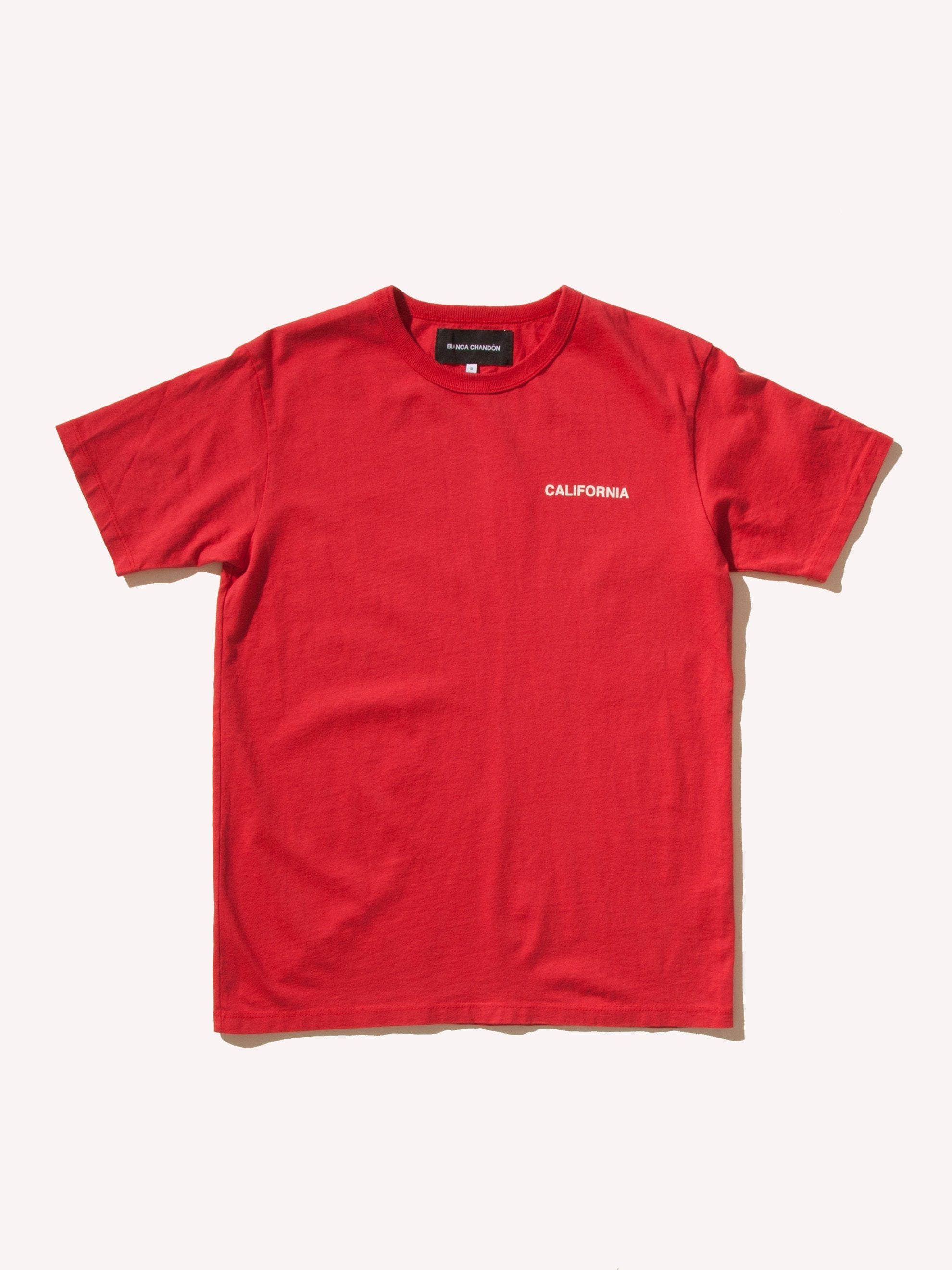 Red California T-Shirt 5