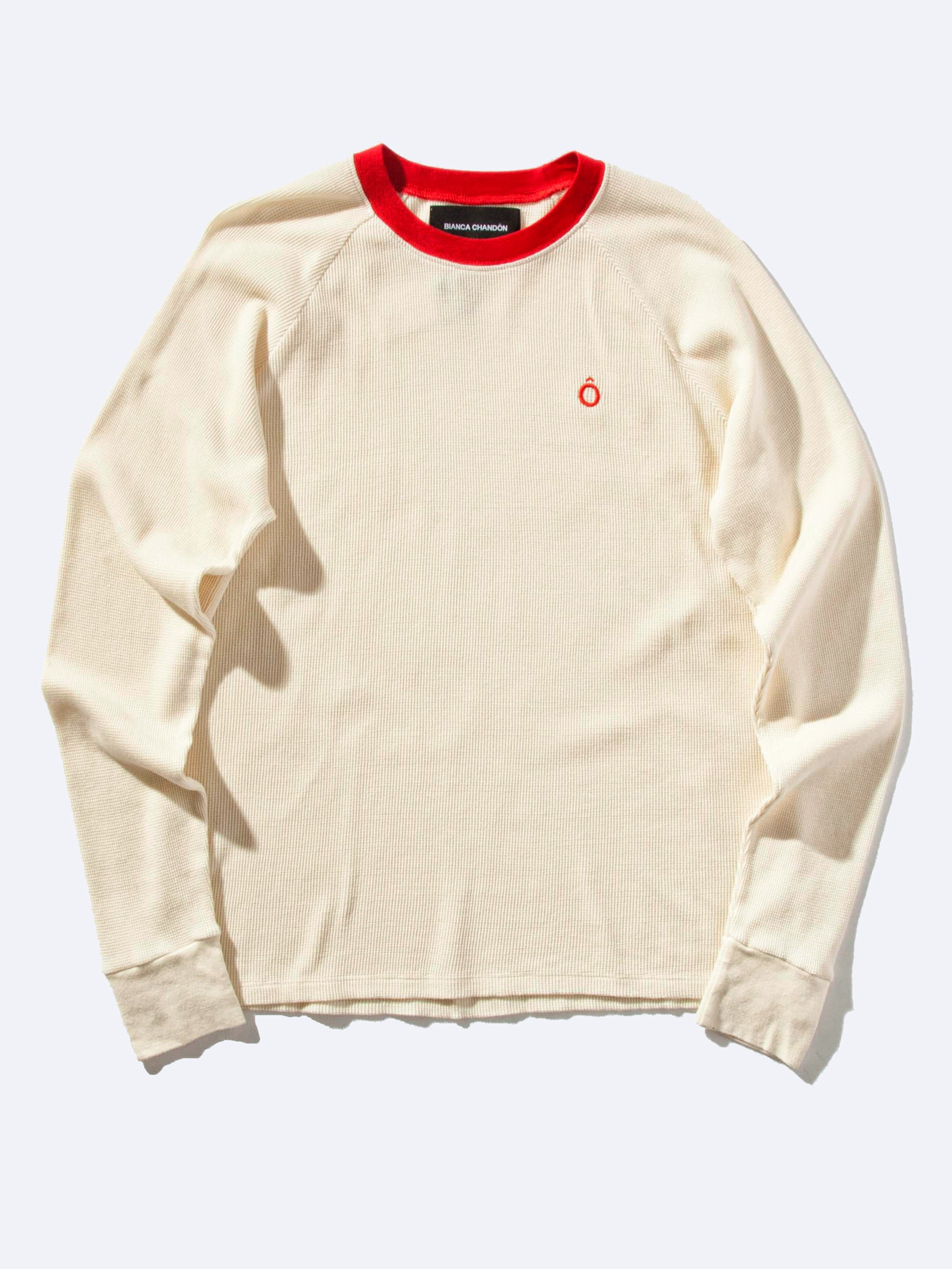 Cream Circumflex Long Sleeve Thermal 1