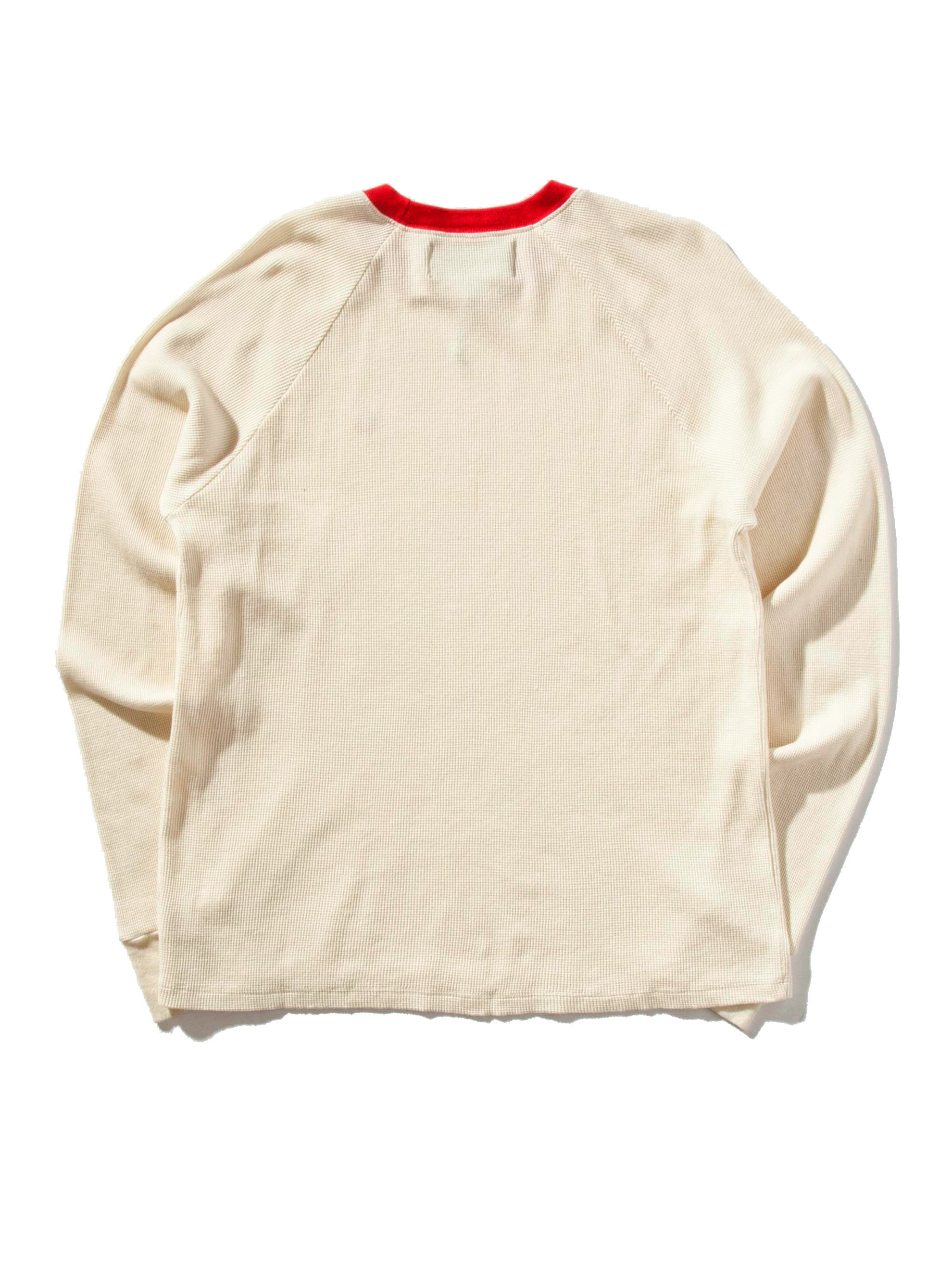 Cream Circumflex Long Sleeve Thermal 5