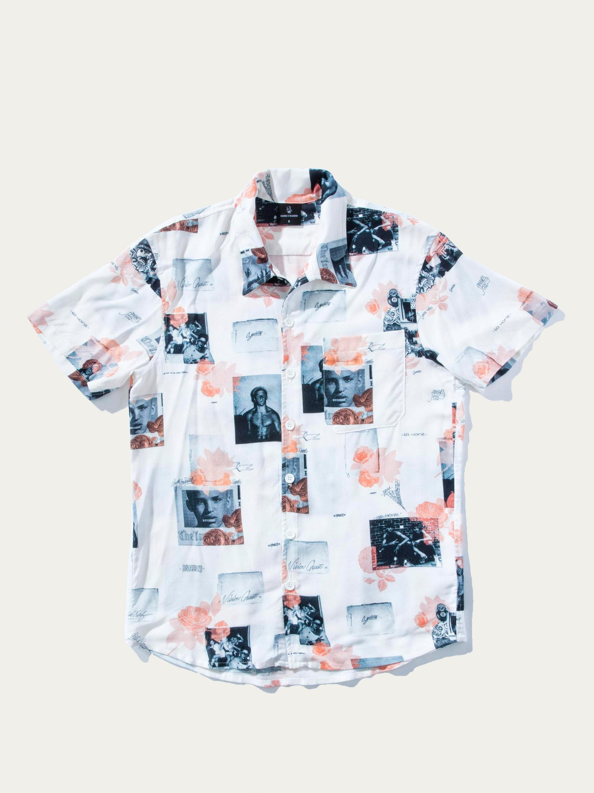 White/Multi Not Dead S/S Shirt 1