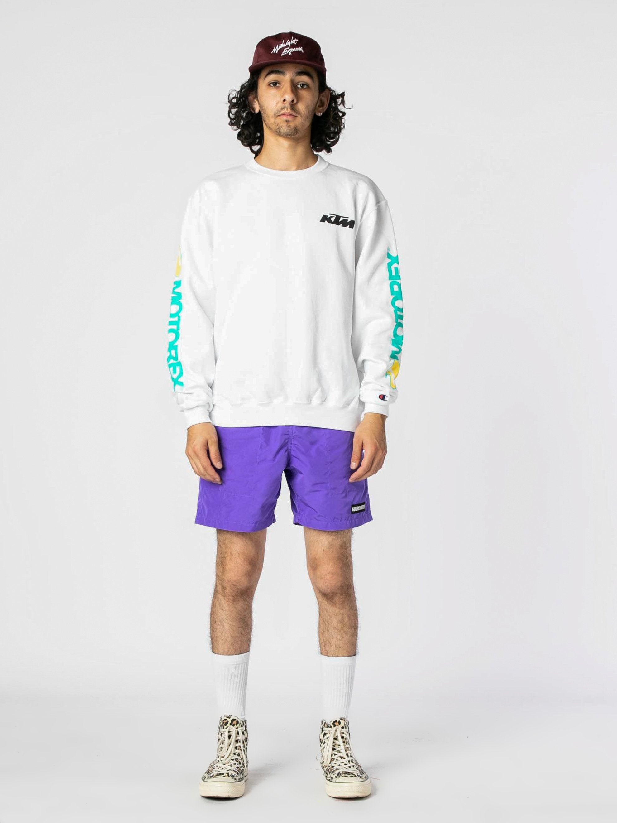 White Dunn Edwards Crewneck 4