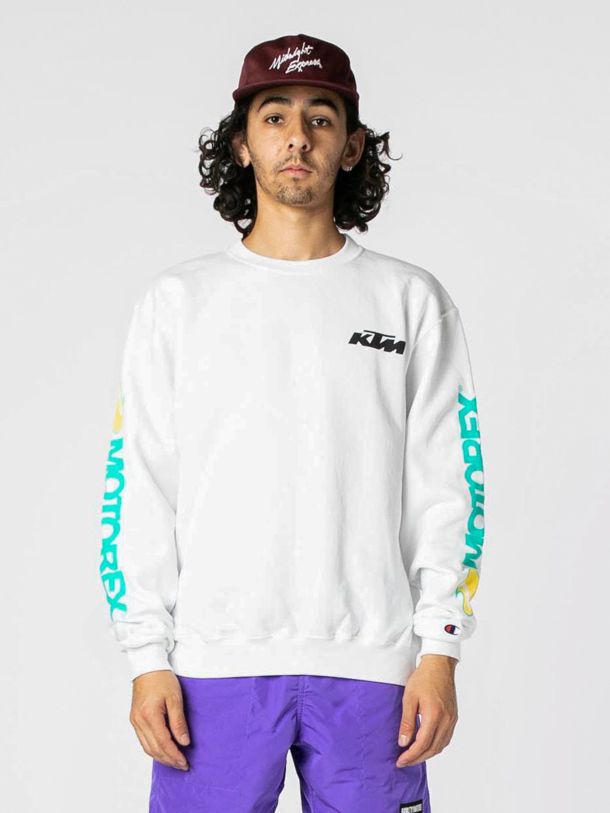 White Dunn Edwards Crewneck 3
