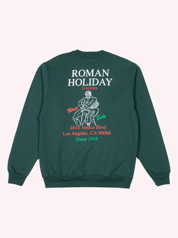 Roman Holiday Crewneck