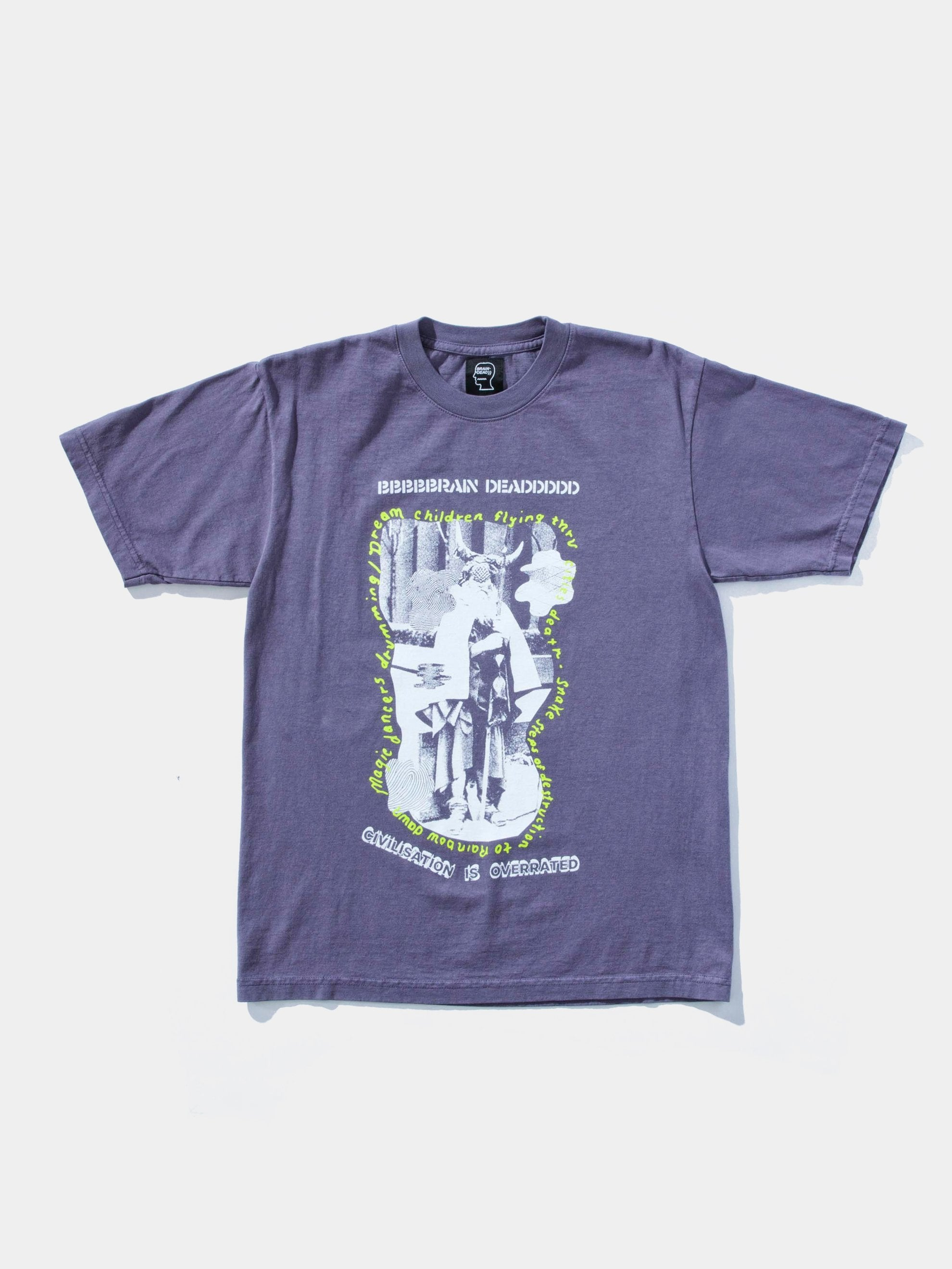 Plum Civilization Dull S/S T-Shirt 1