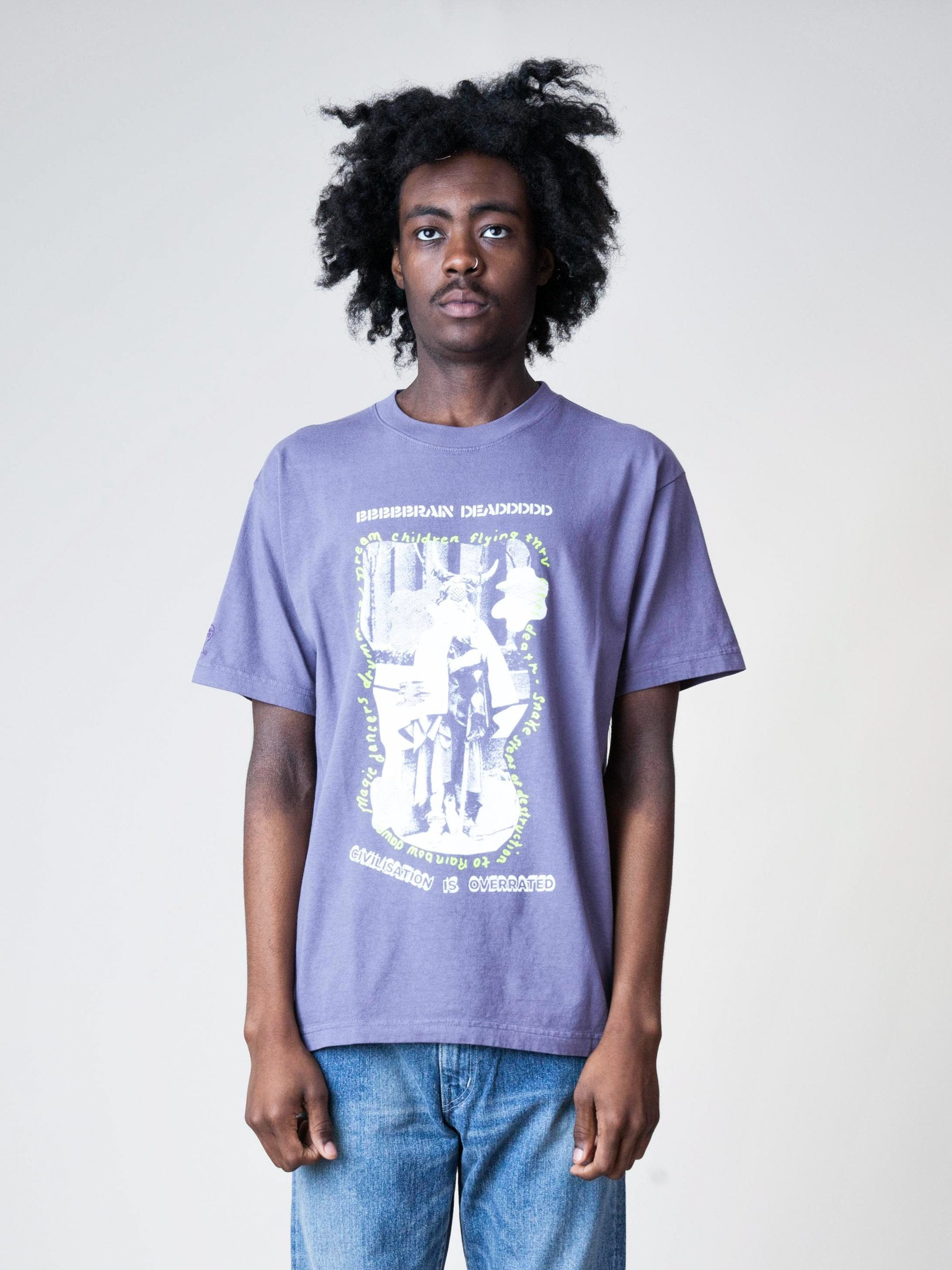 Plum Civilization Dull S/S T-Shirt 2