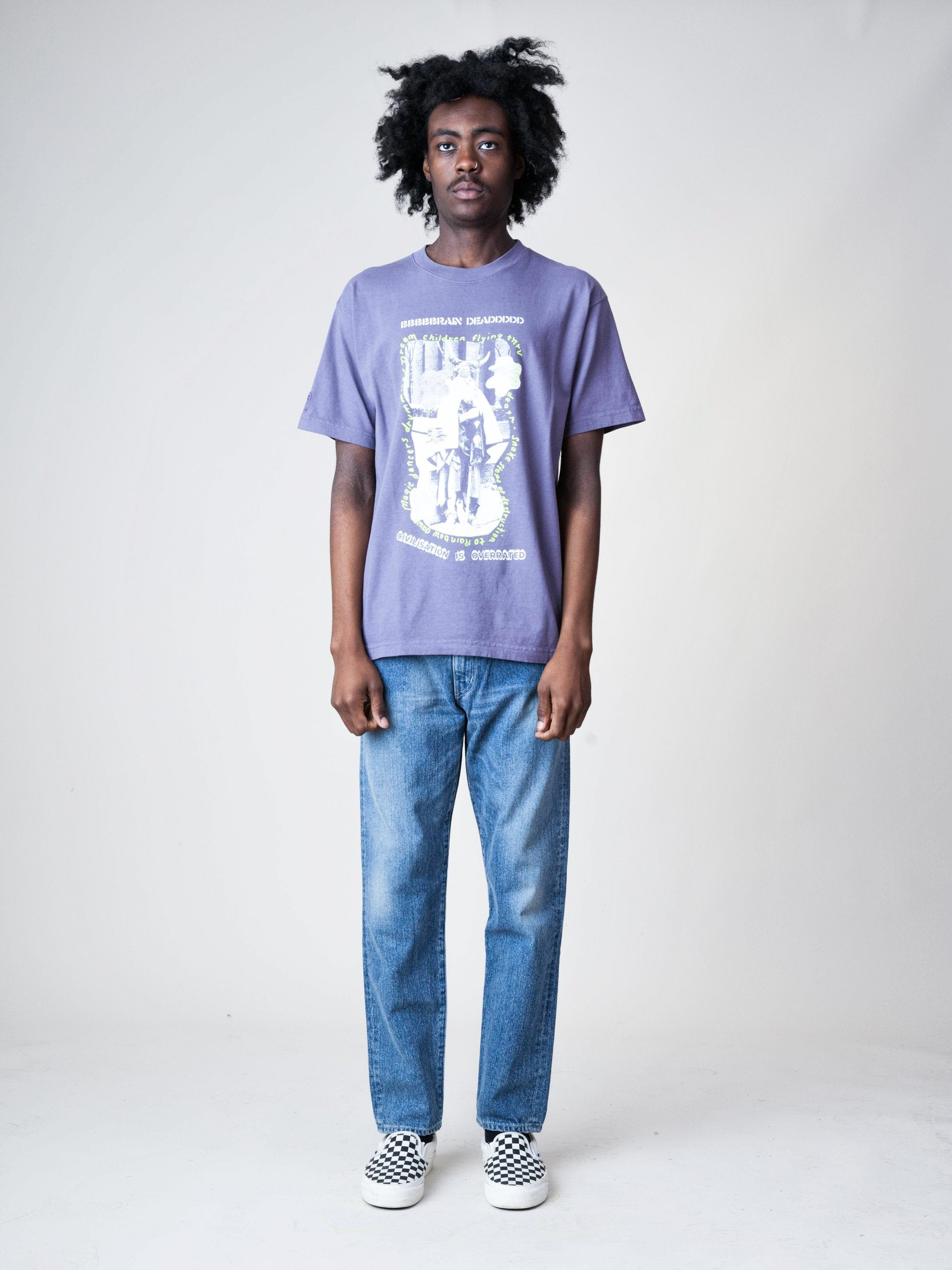 Plum Civilization Dull S/S T-Shirt 3