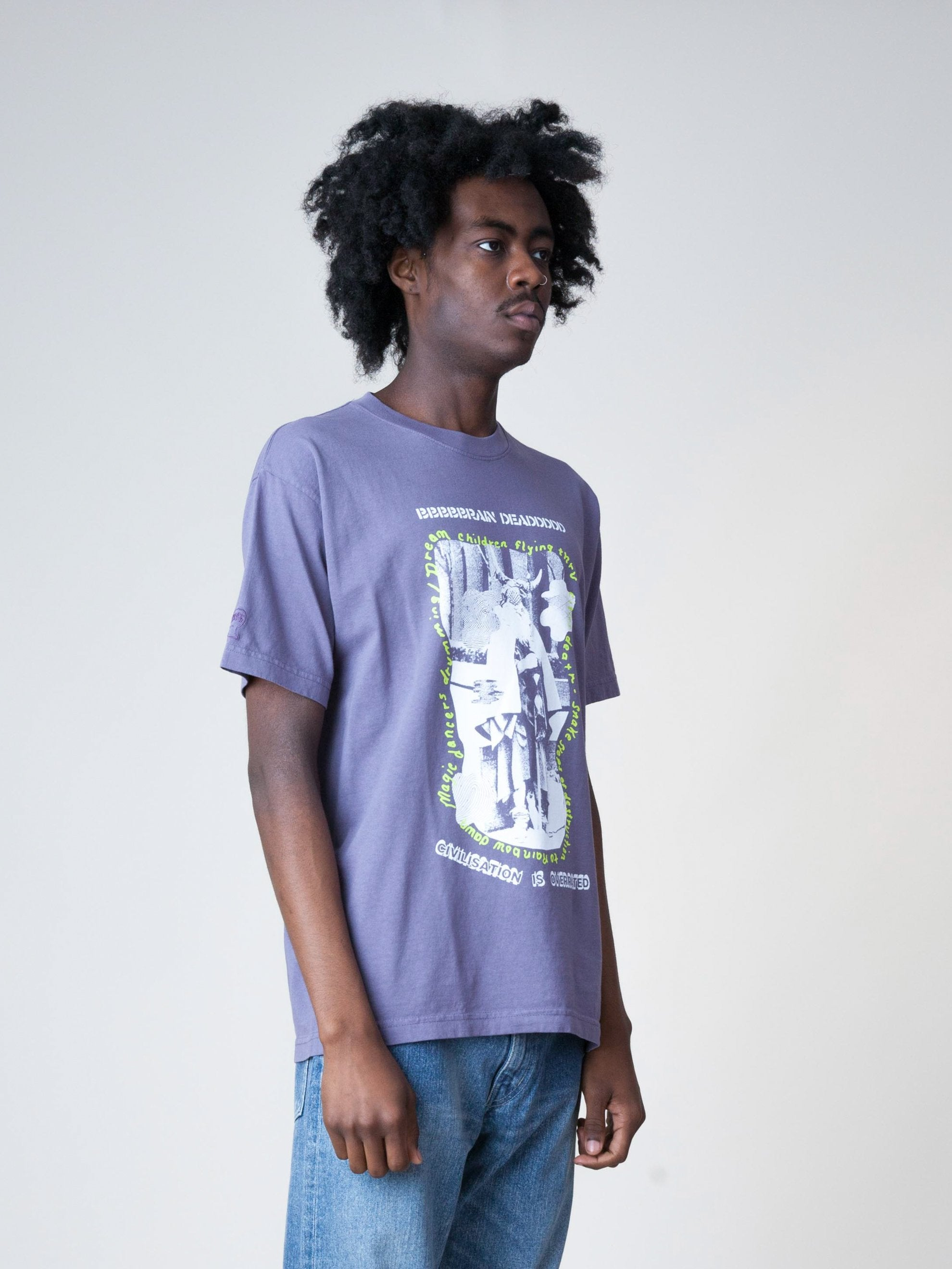 Plum Civilization Dull S/S T-Shirt 4