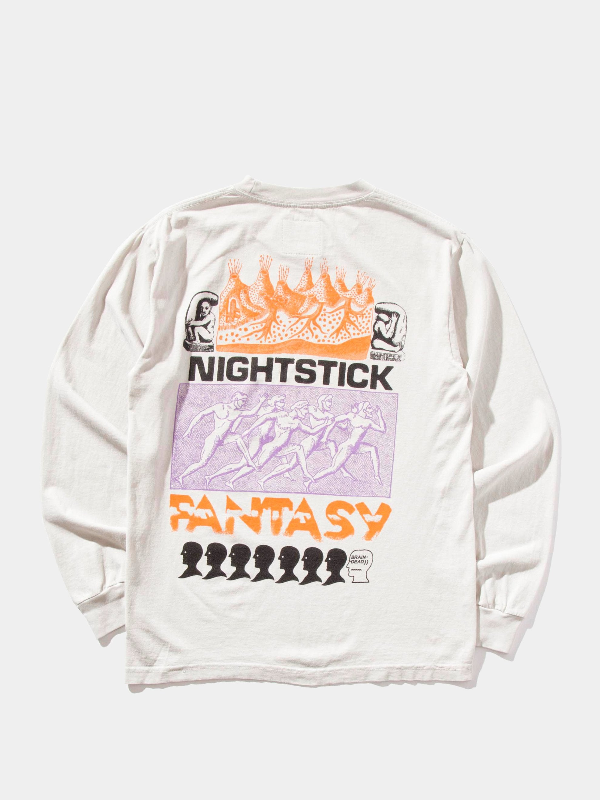 Off White Nightstick Fantasy Long Sleeve T-Shirt 1