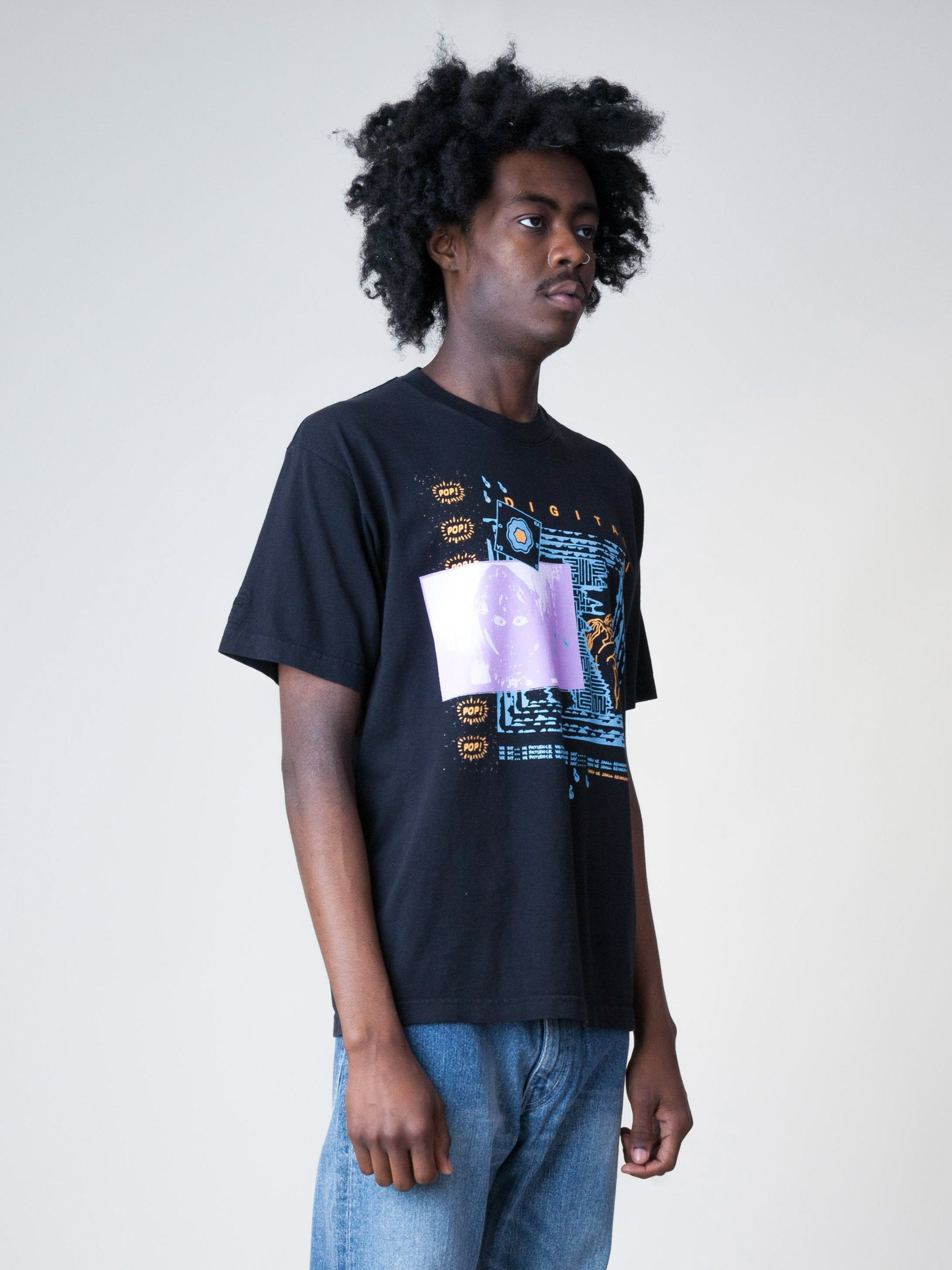 Black Digital Life S/S T-Shirt 4