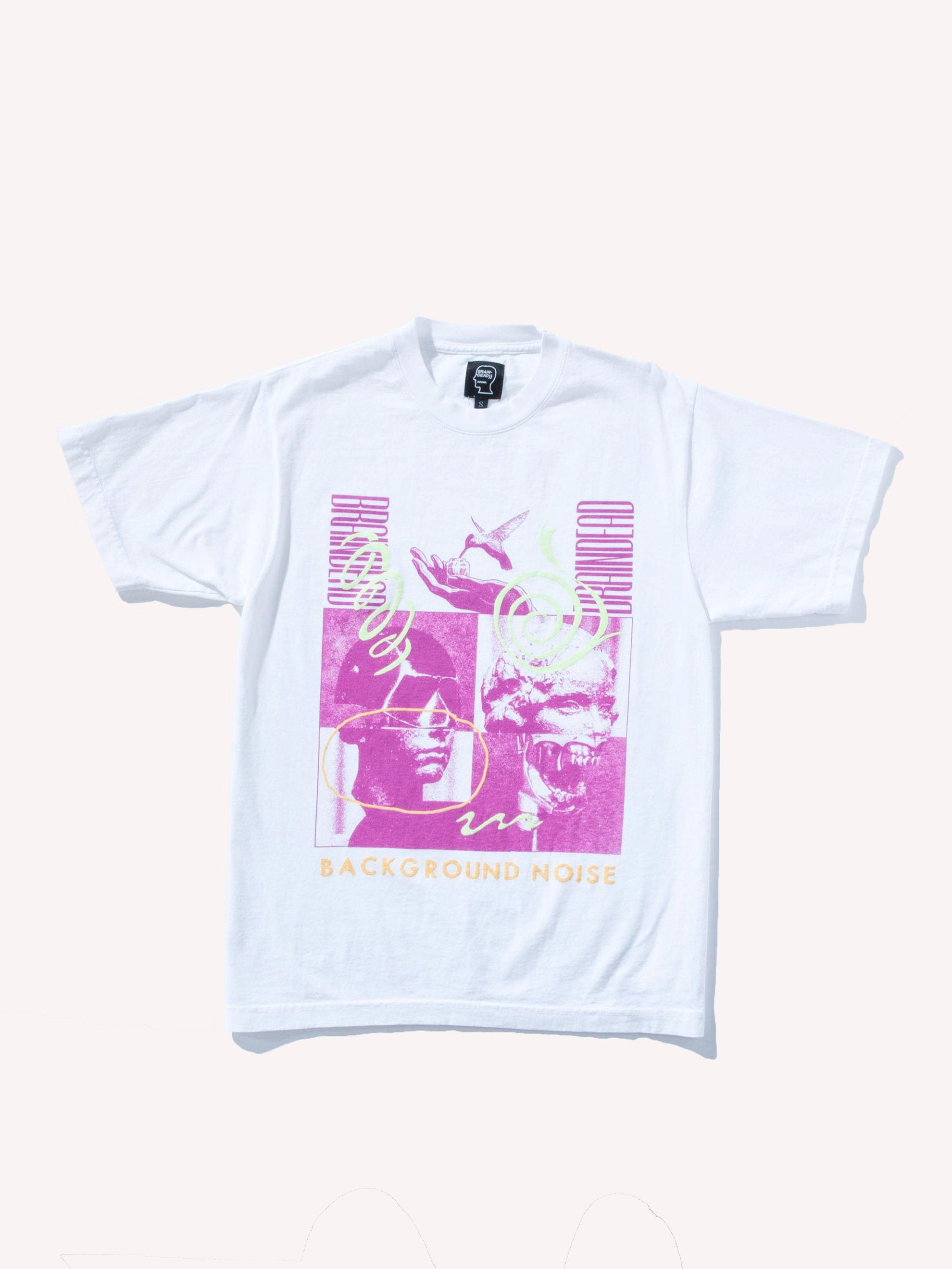White Background Noise S/S T-Shirt 1