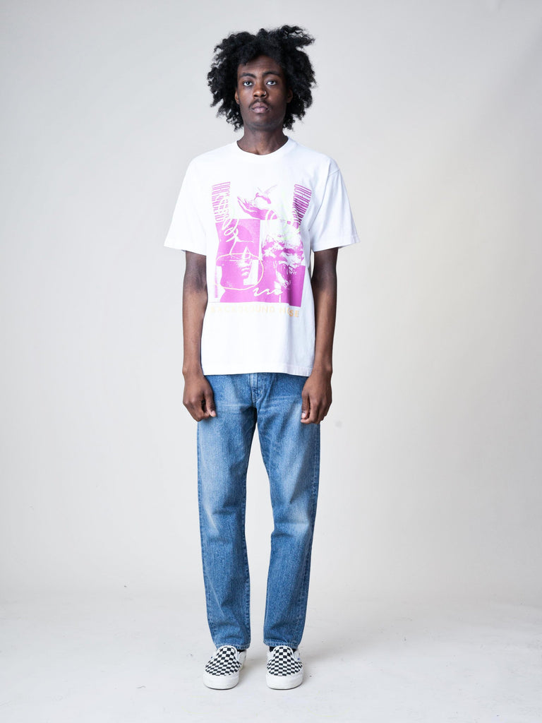 White Background Noise S/S T-Shirt 33611288535117