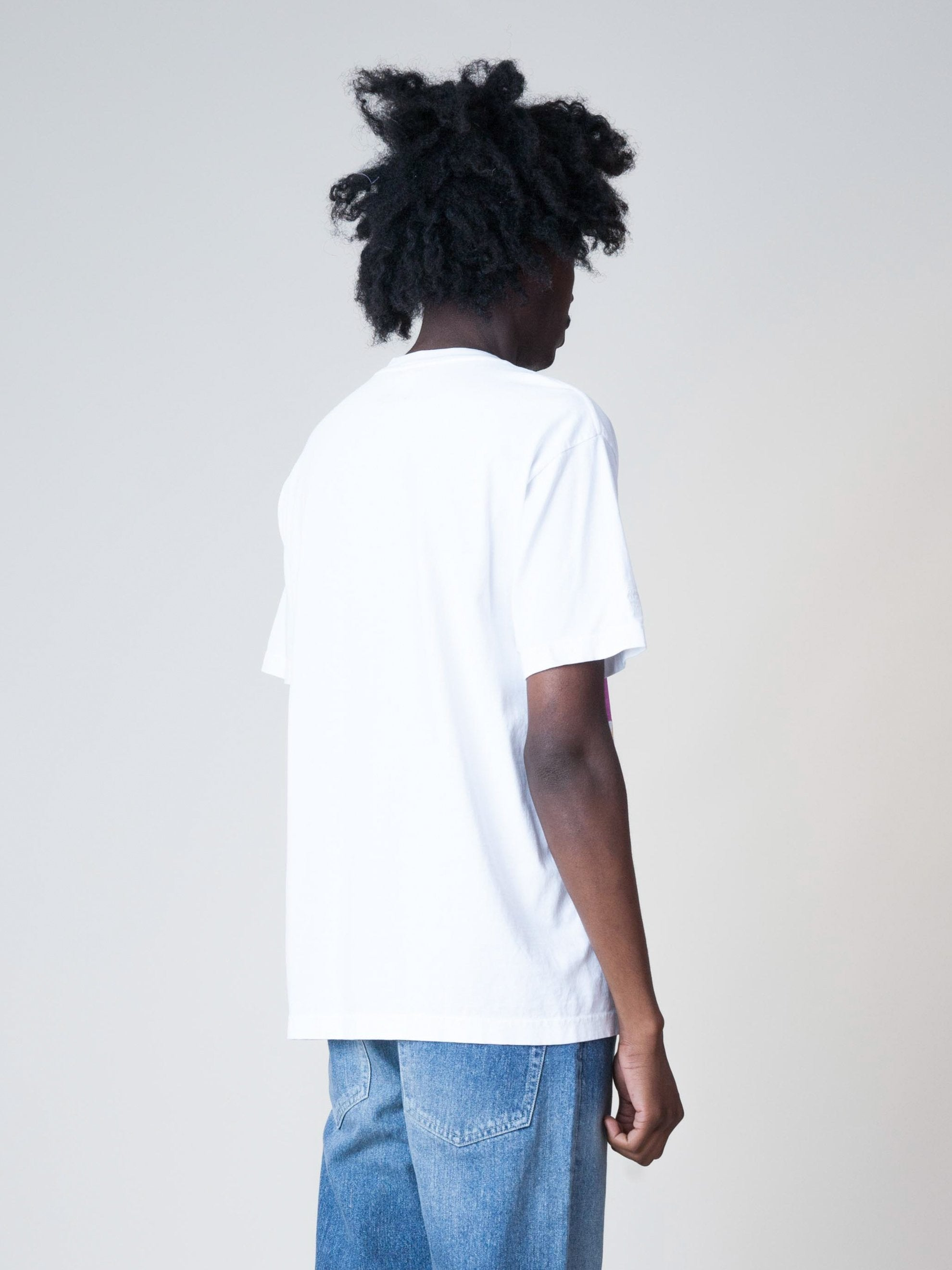 White Background Noise S/S T-Shirt 5