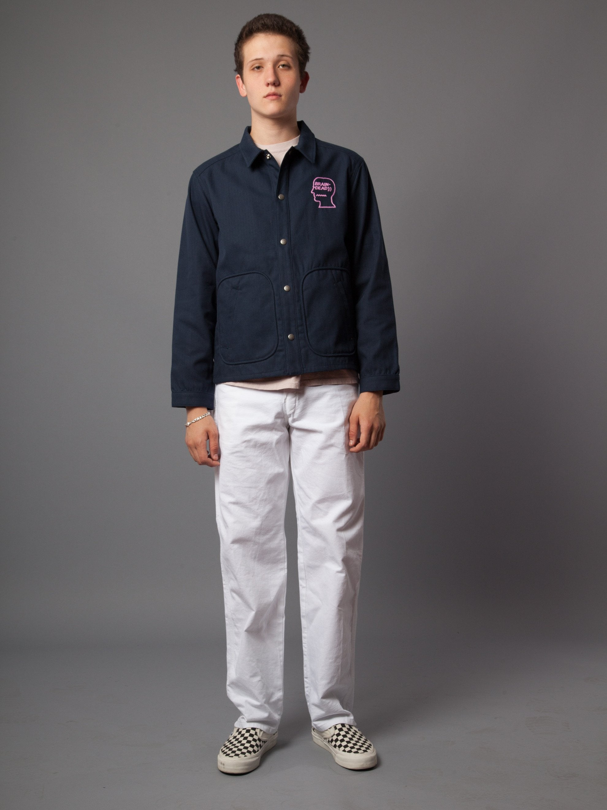 Navy Destroyer Club Jacket 2