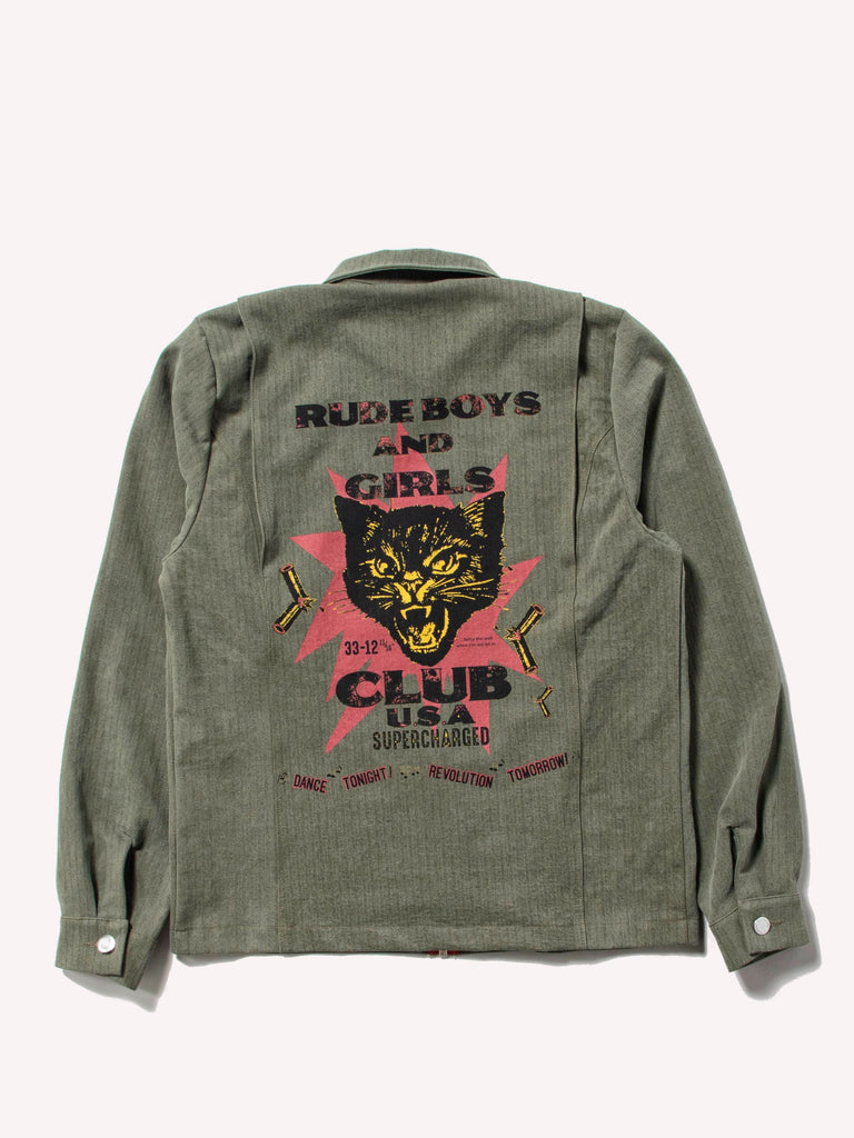 Rude Boys Shirt Jacket