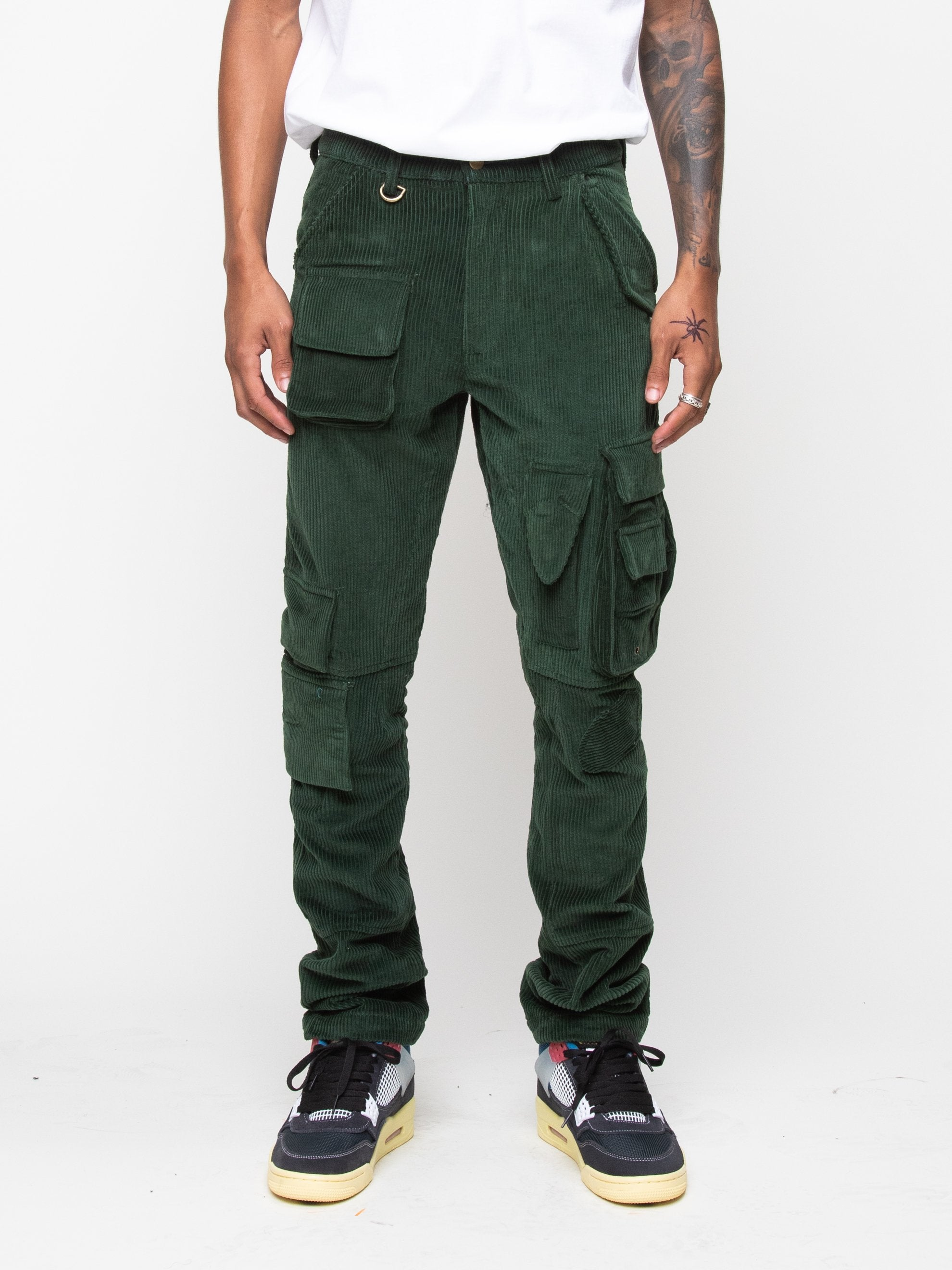 Olive 13 PKT Cargo Pant 3