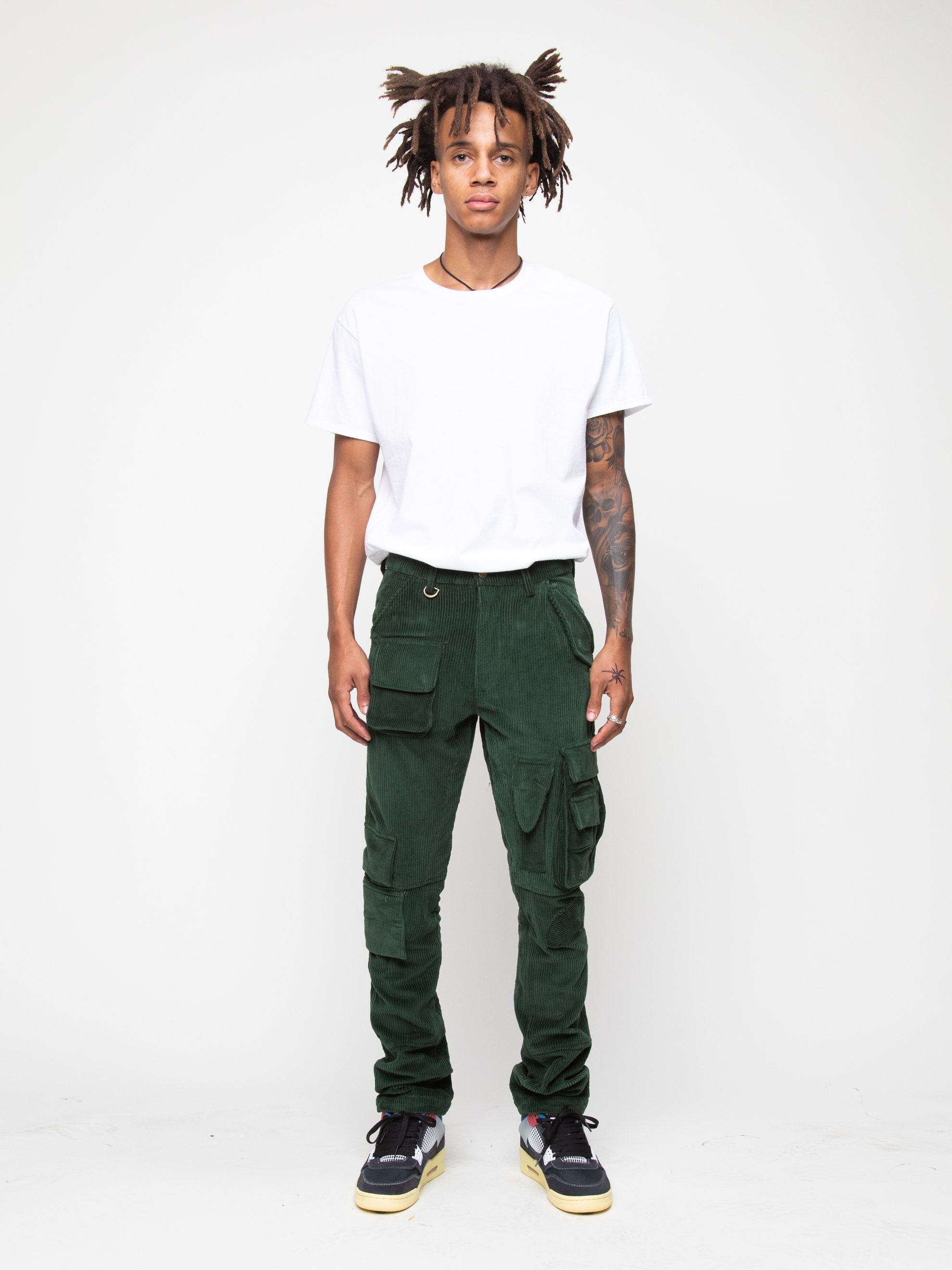 Olive 13 PKT Cargo Pant 2