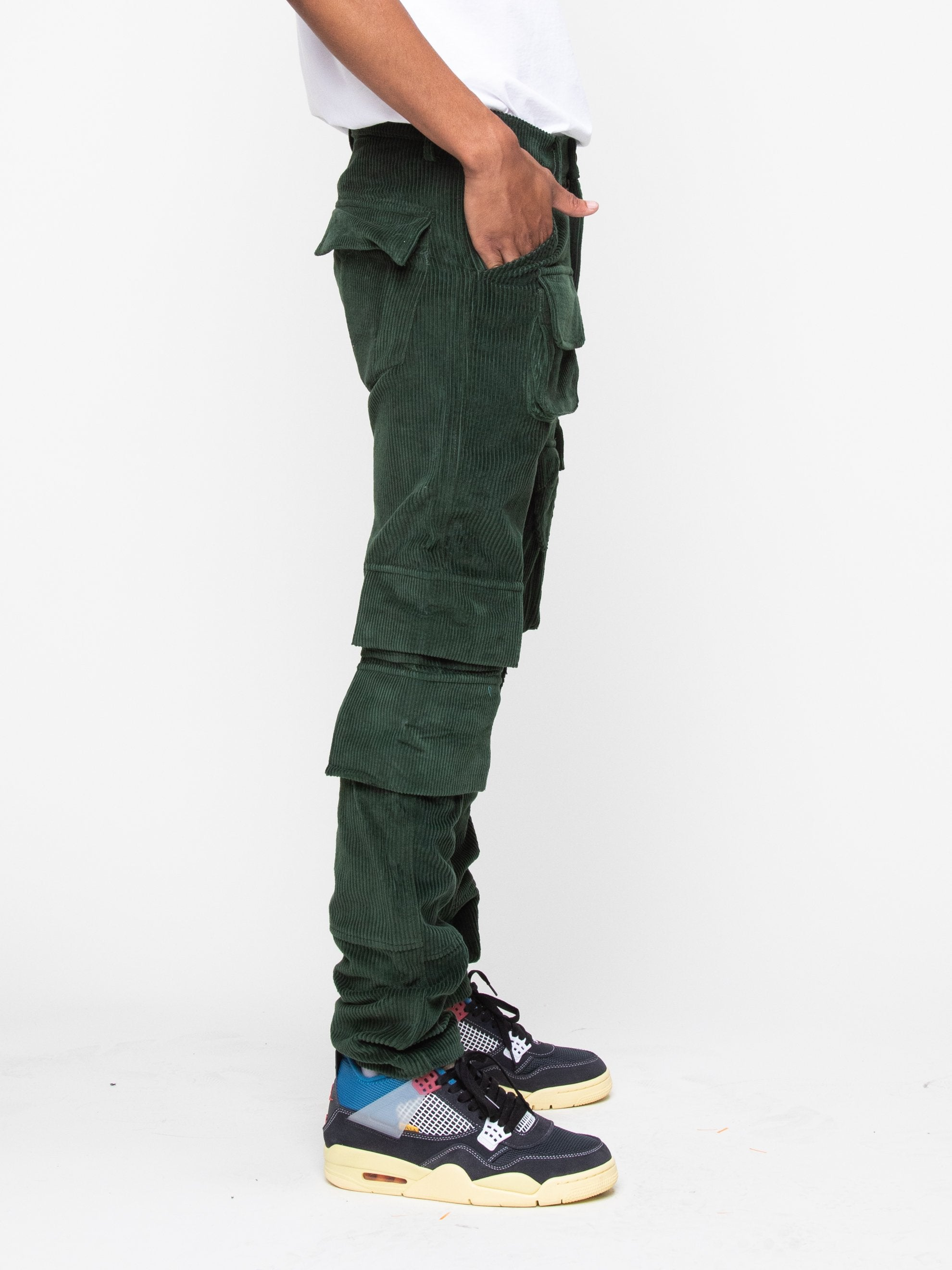 Olive 13 PKT Cargo Pant 4