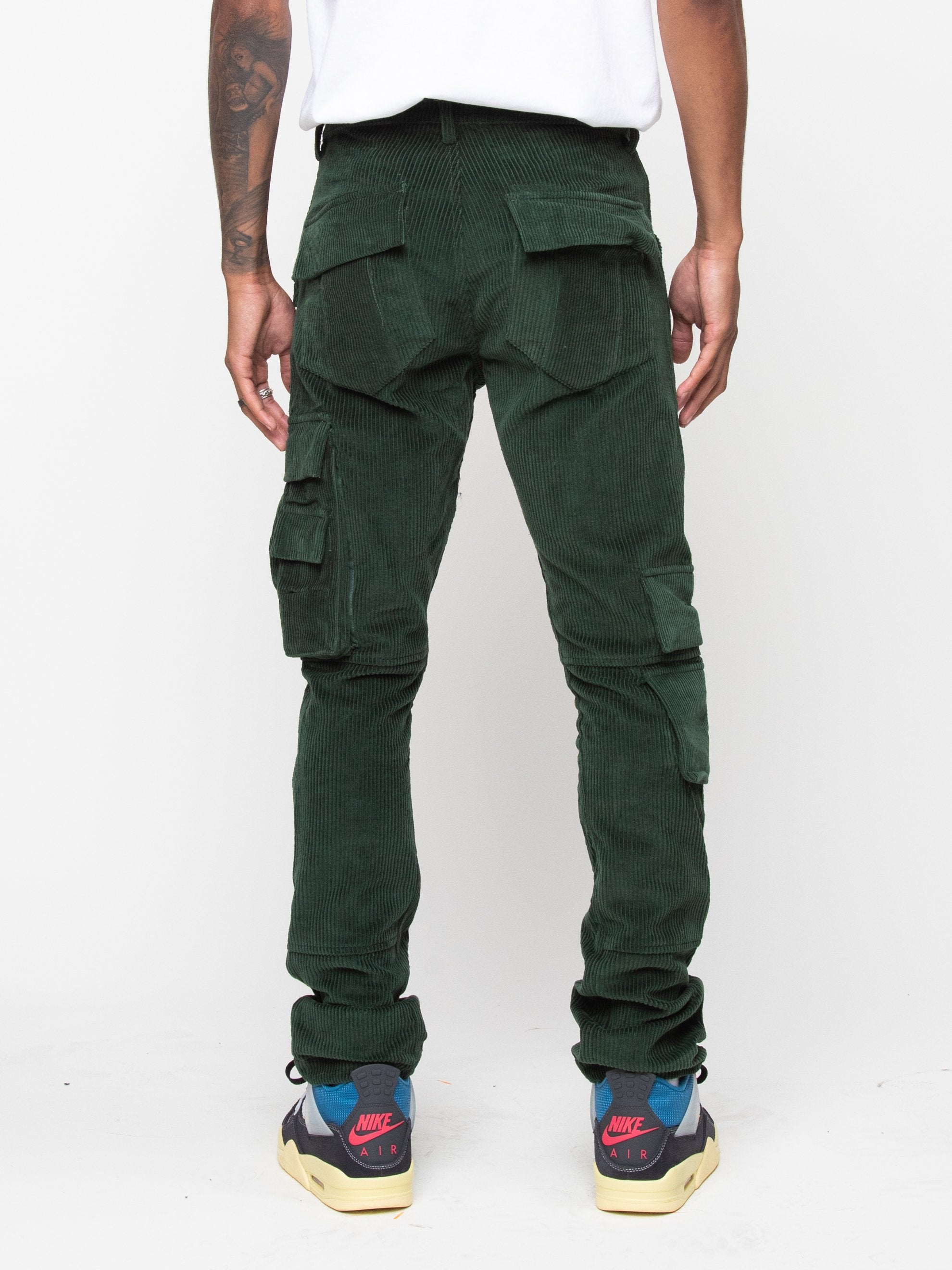 Olive 13 PKT Cargo Pant 5