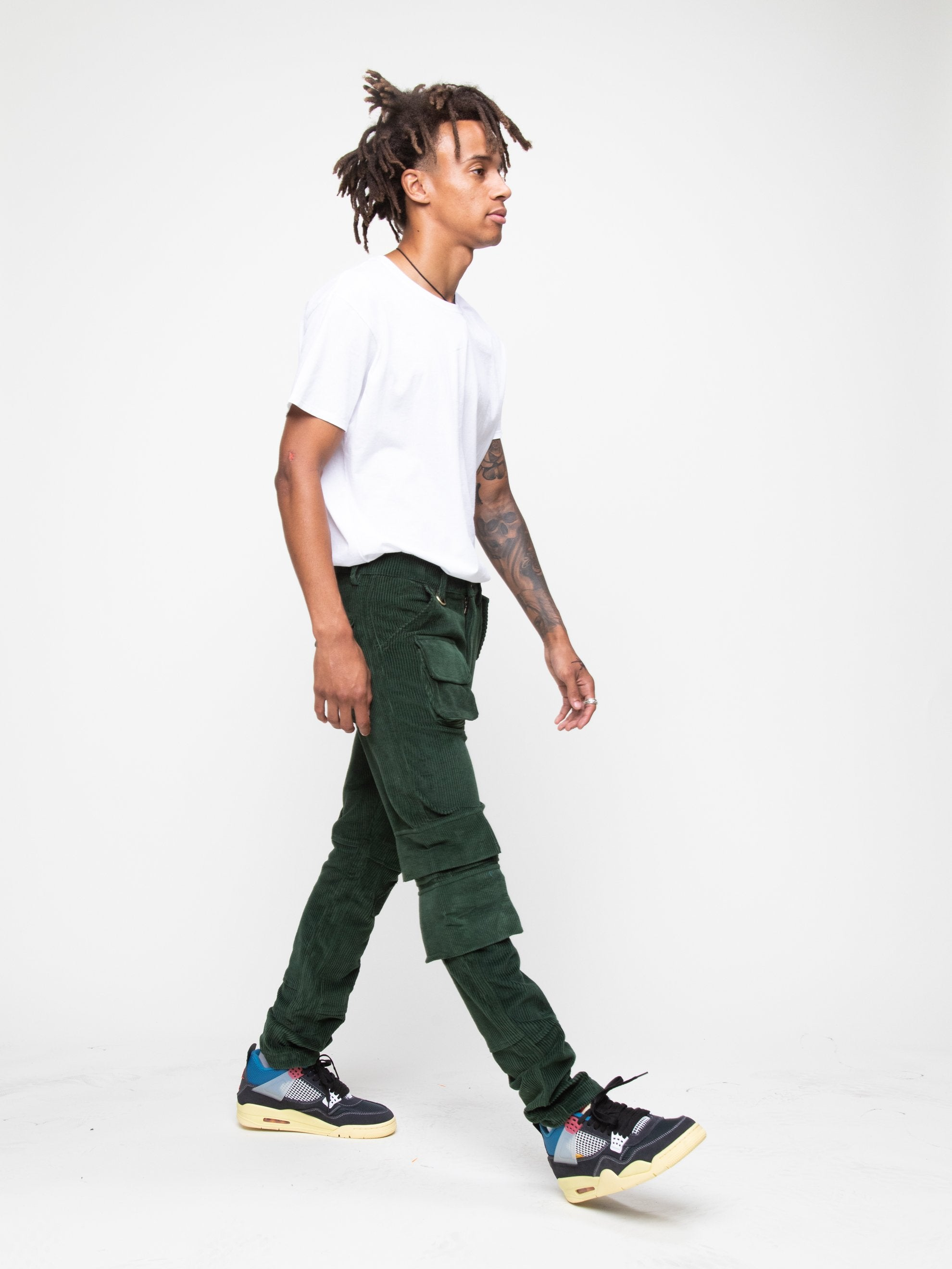 Olive 13 PKT Cargo Pant 6