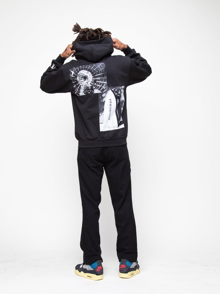 Black Heavy Fleece Collection Hoodie 715715199320141