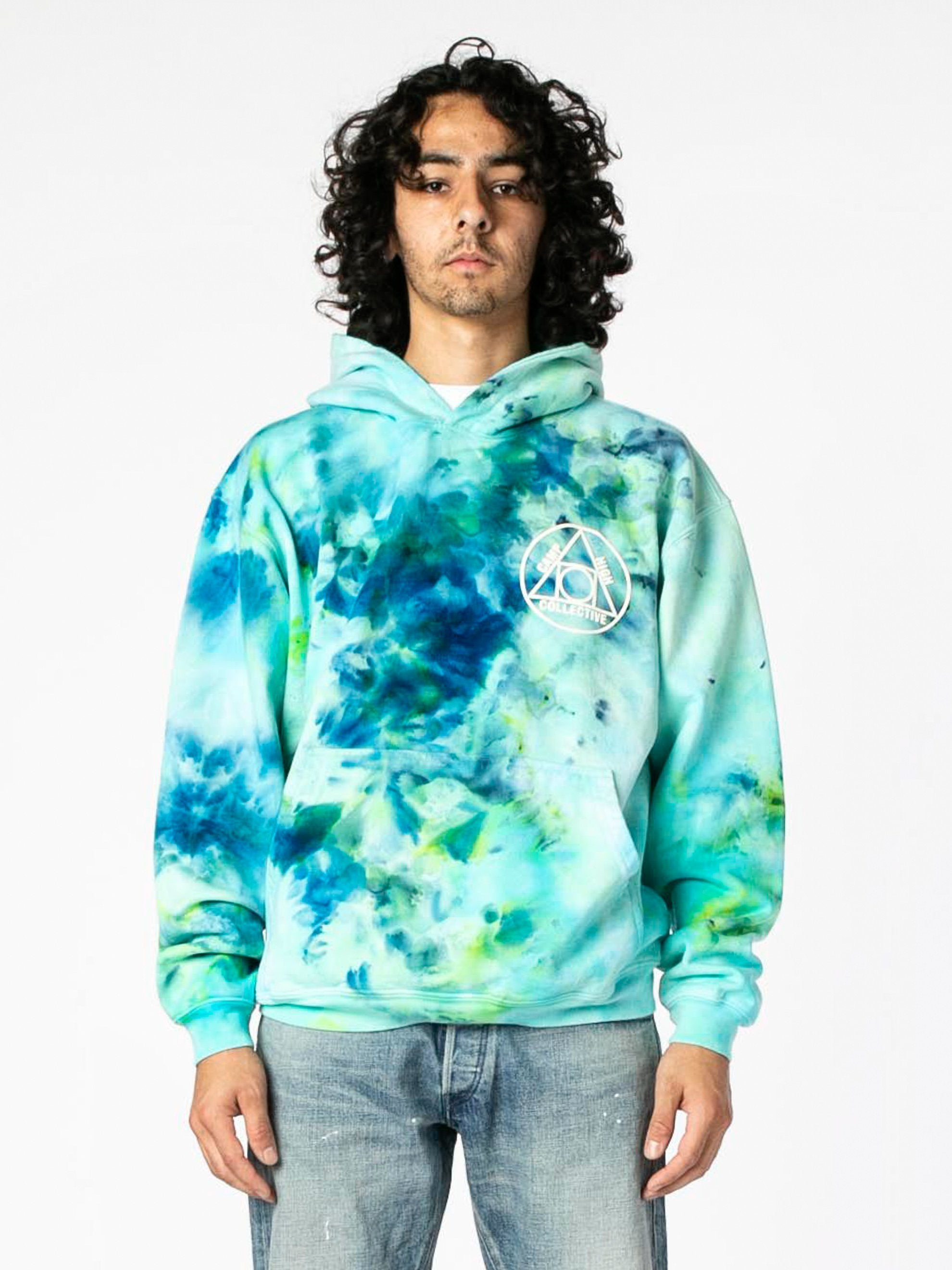 Tie Dye Camp High Collective Hoodie 2
