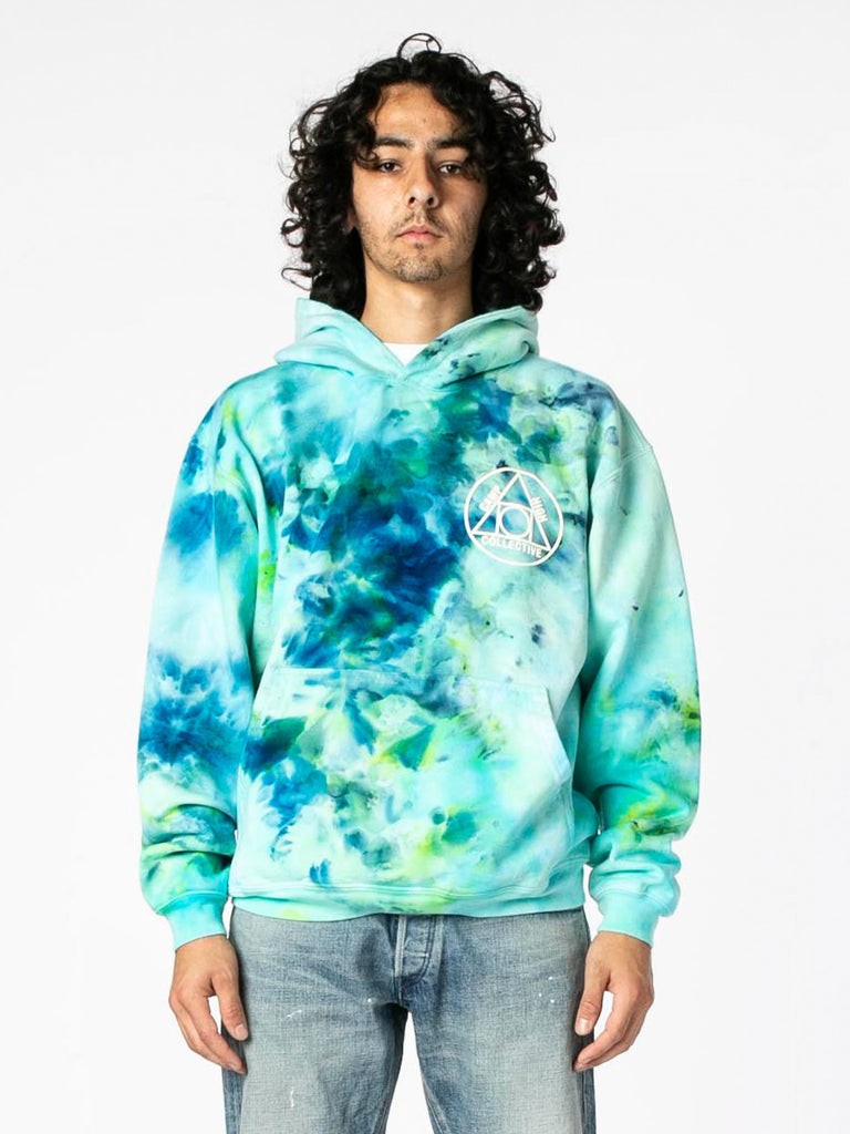 Tie Dye Camp High Collective Hoodie 213570629107789