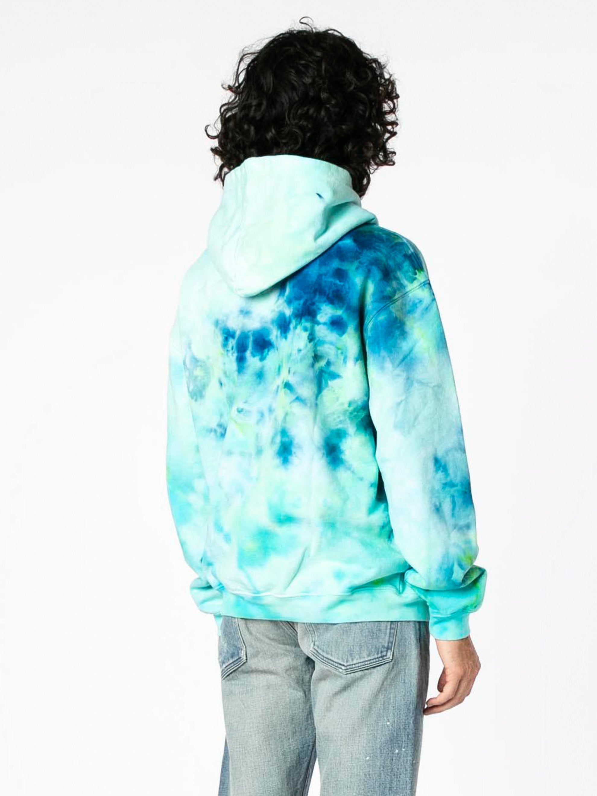 Tie Dye Camp High Collective Hoodie 5