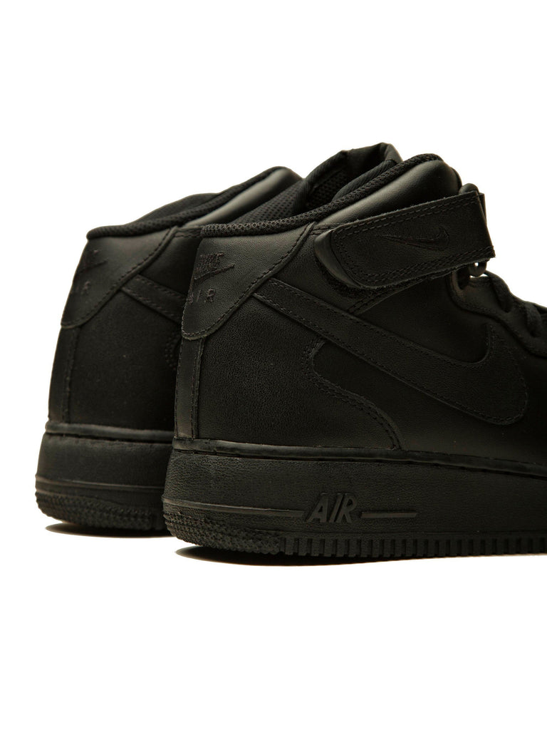 Black Nike x CdG Air Force 1 (Mid) 313572219928653
